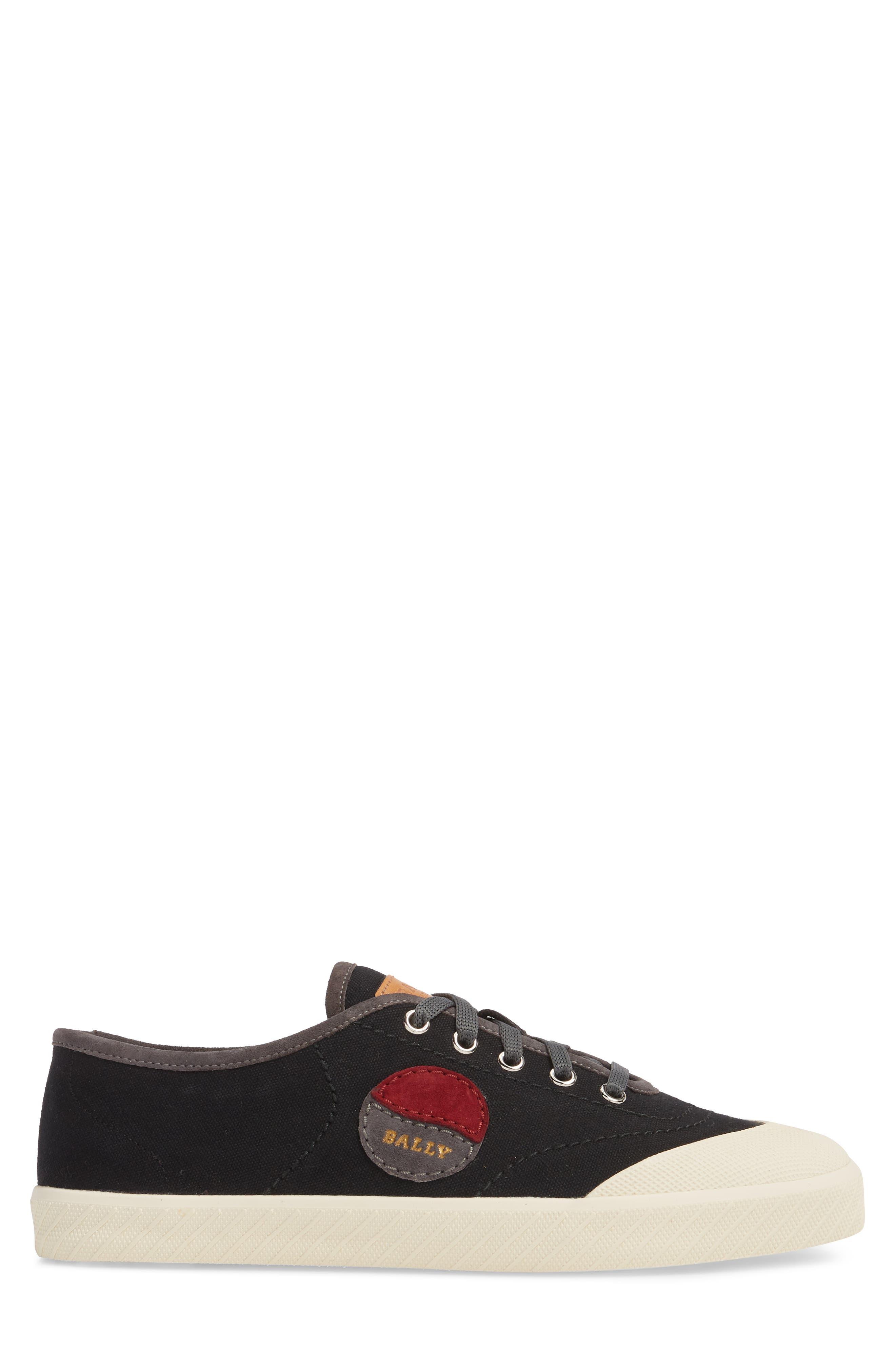 Silio Low Top Sneaker,                             Alternate thumbnail 3, color,                             001