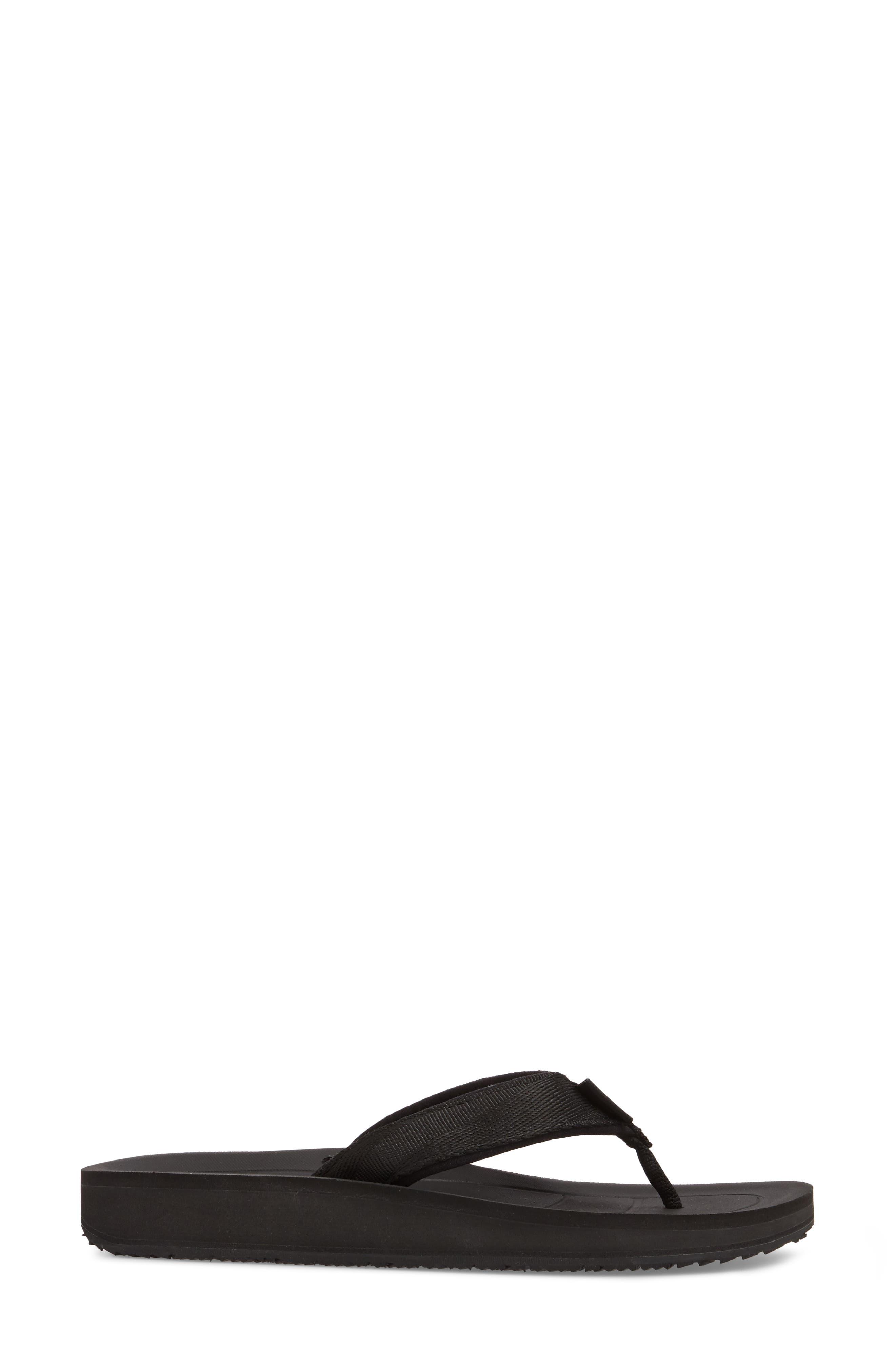 Flip Premier Sandal,                             Alternate thumbnail 3, color,                             001