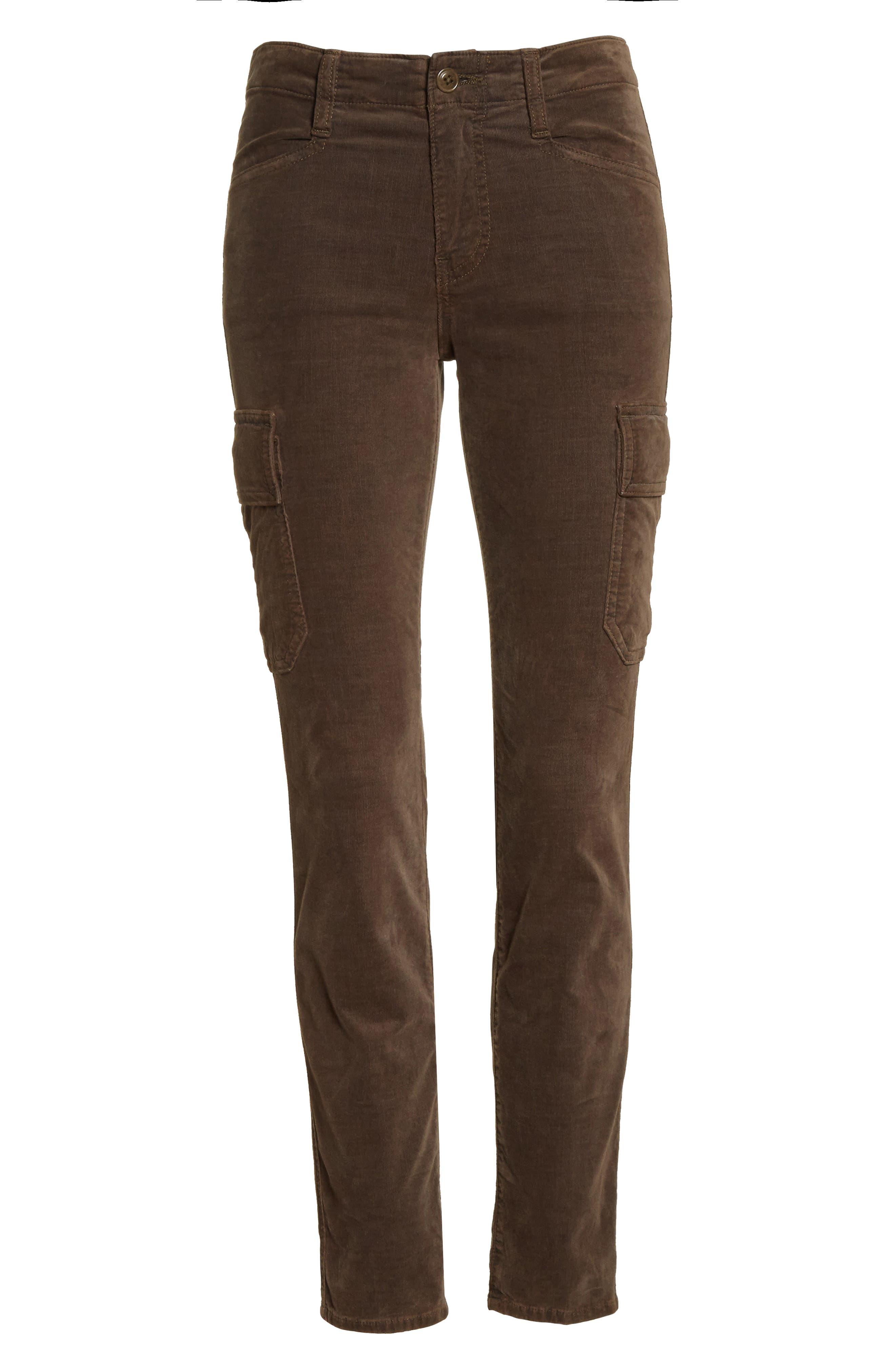 Skinny Corduroy Cargo Pants,                             Alternate thumbnail 12, color,