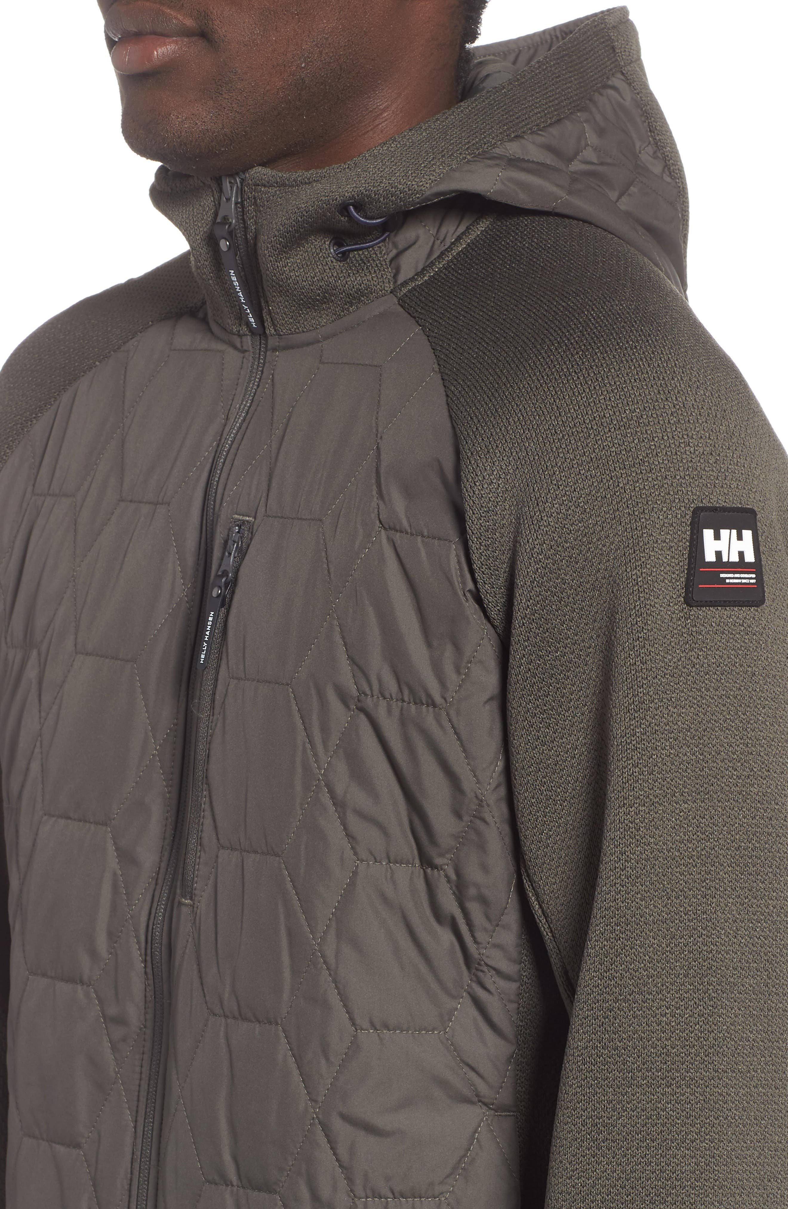Shore Hybrid Insulator Jacket,                             Alternate thumbnail 4, color,                             BELUGA