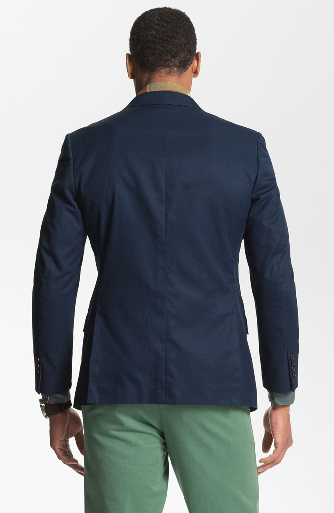 Cotton Blazer,                             Alternate thumbnail 8, color,