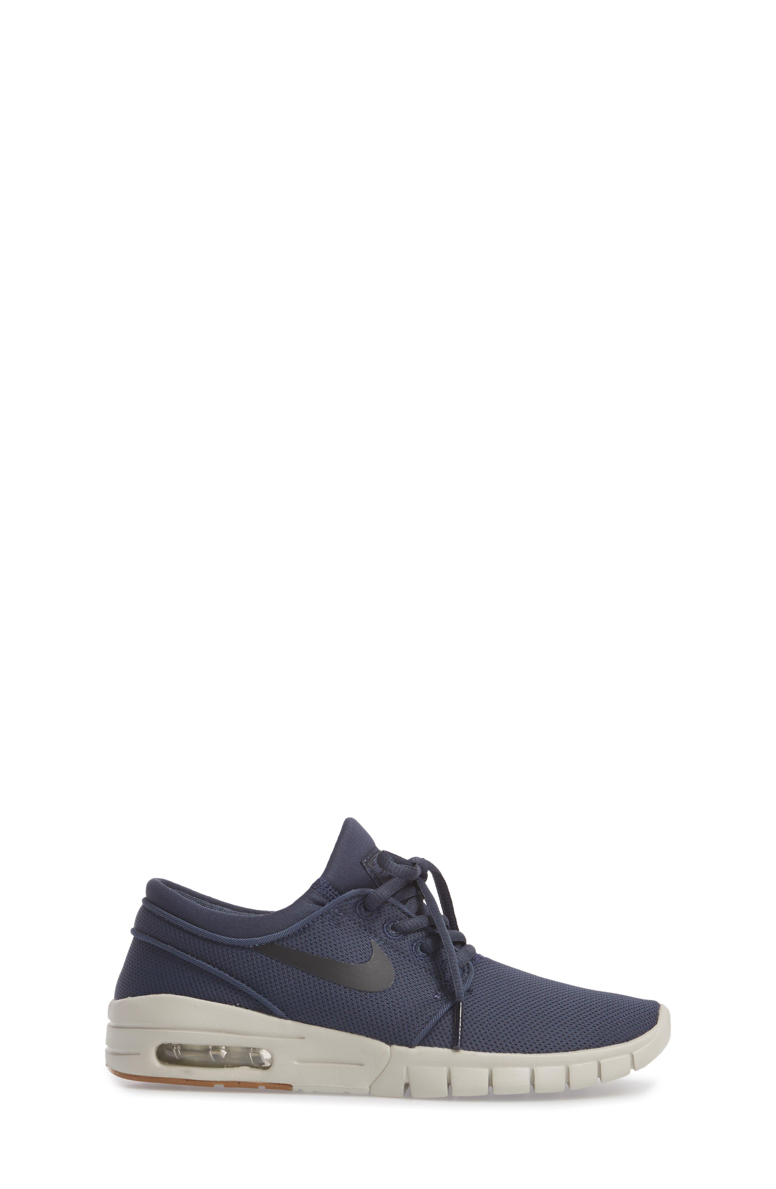 Stefan Janoski Max SB Skate Sneaker,                             Alternate thumbnail 21, color,