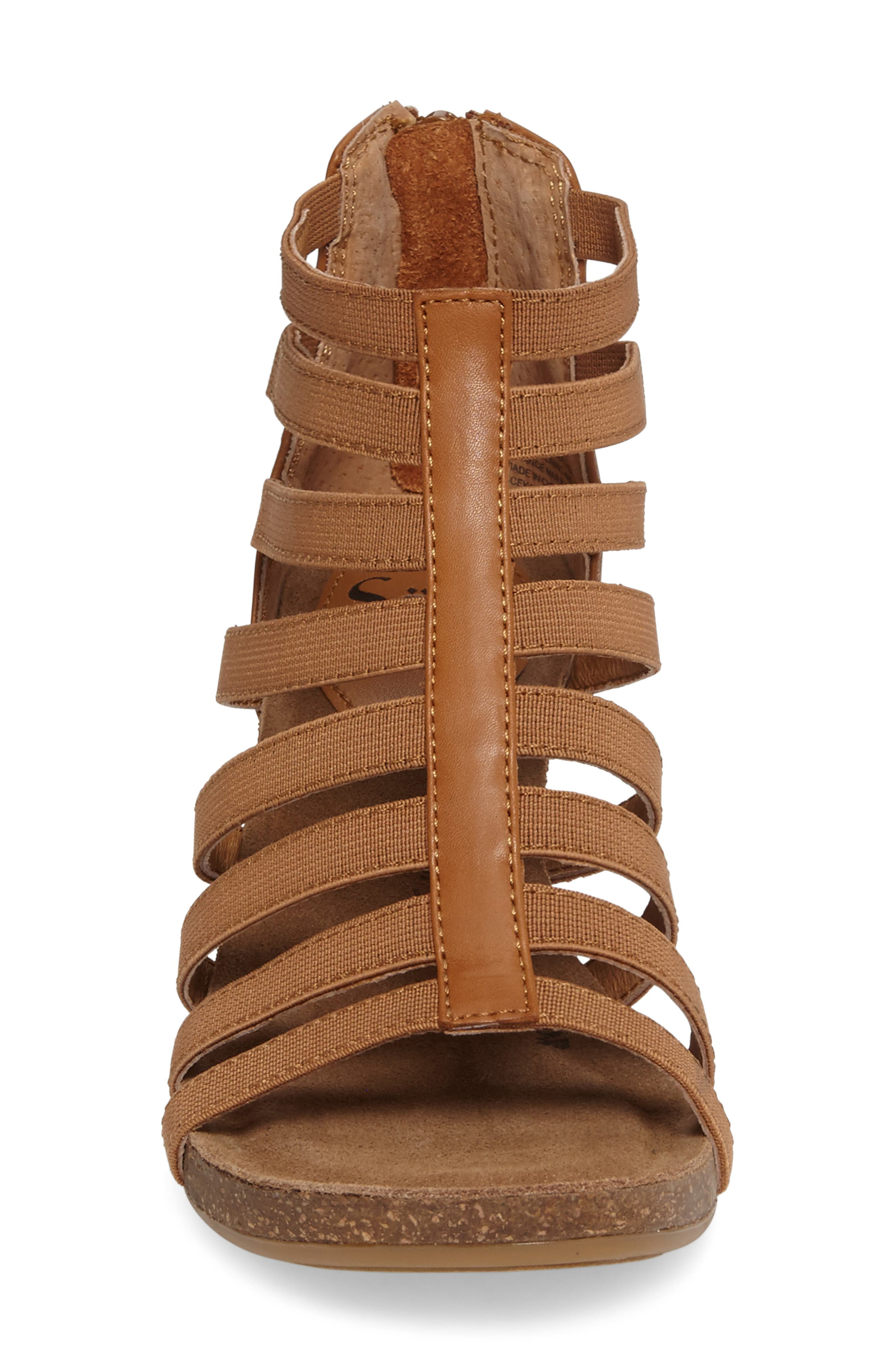 Mati Caged Wedge Sandal,                             Alternate thumbnail 8, color,