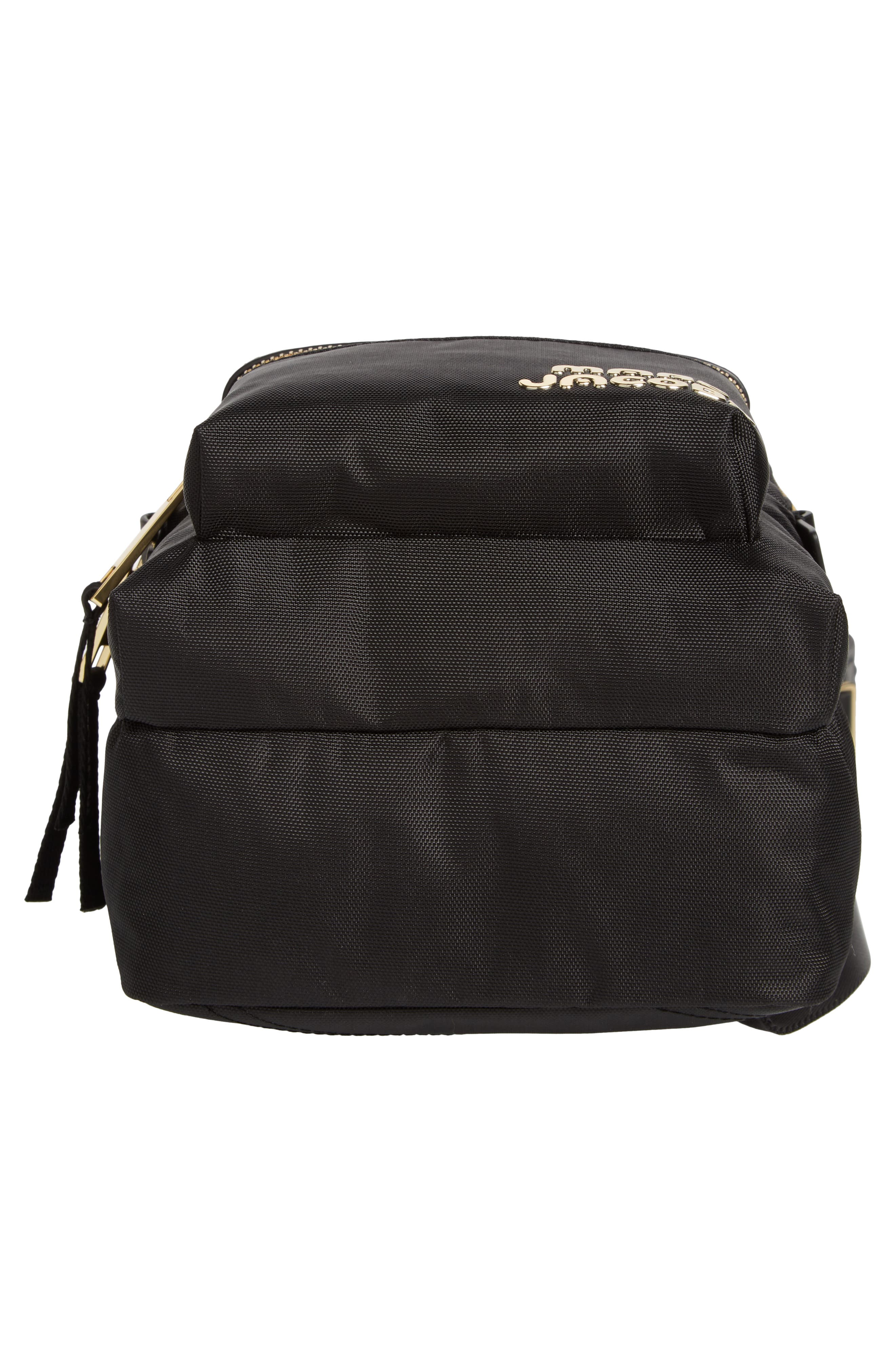 Mini Trek Nylon Backpack,                             Alternate thumbnail 6, color,                             001