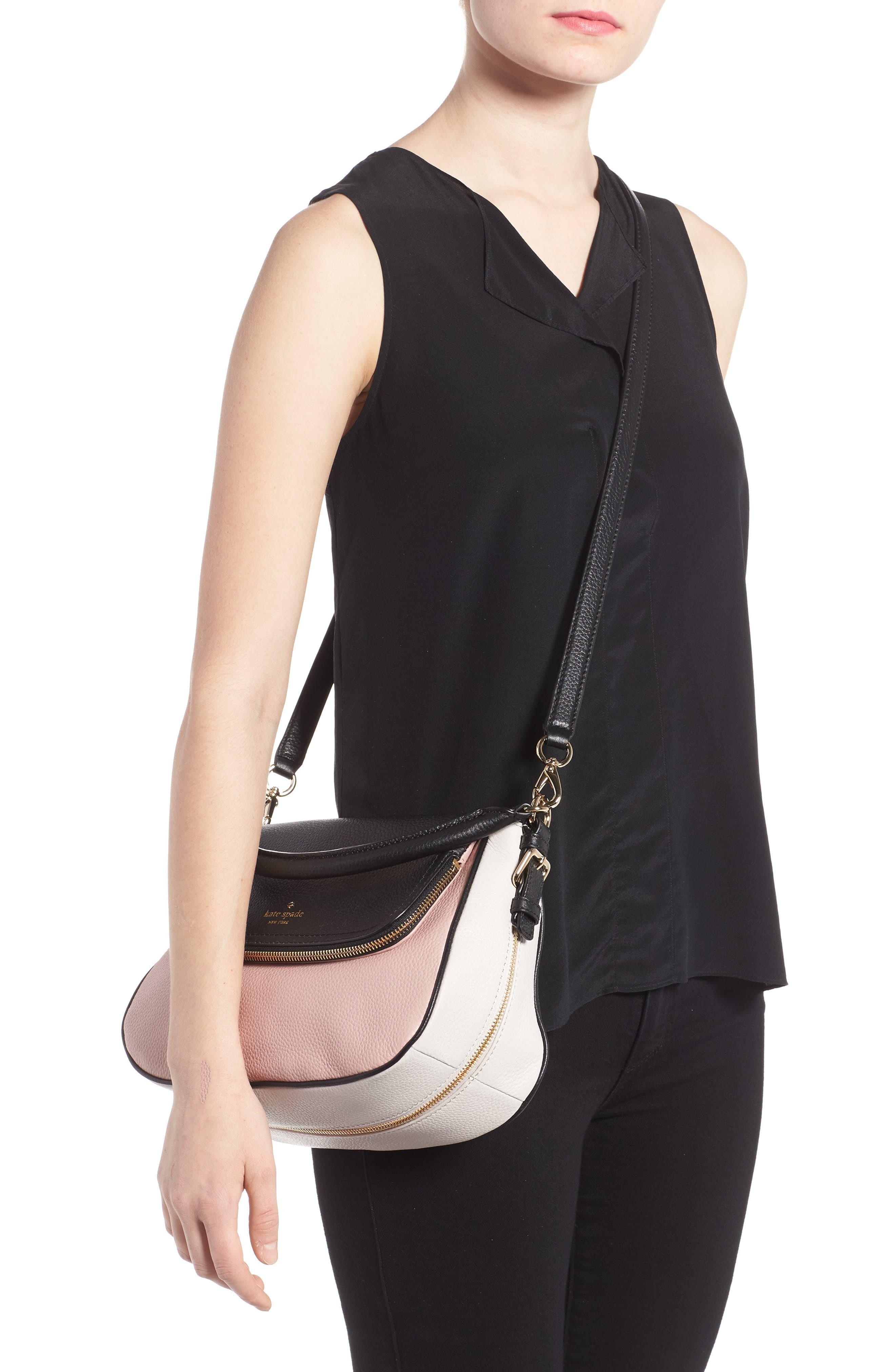 cobble hill - deva leather crossbody bag,                             Alternate thumbnail 15, color,