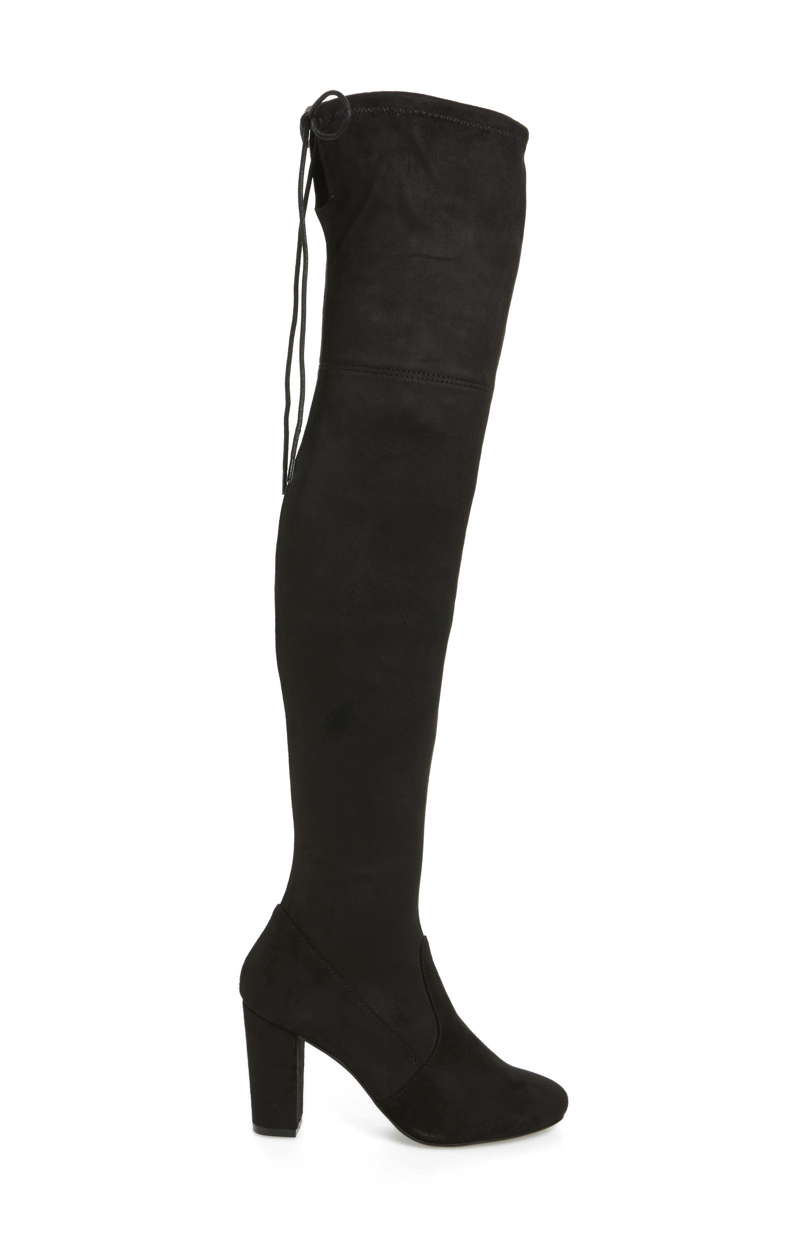 Brinna Over the Knee Boot,                             Alternate thumbnail 3, color,                             001
