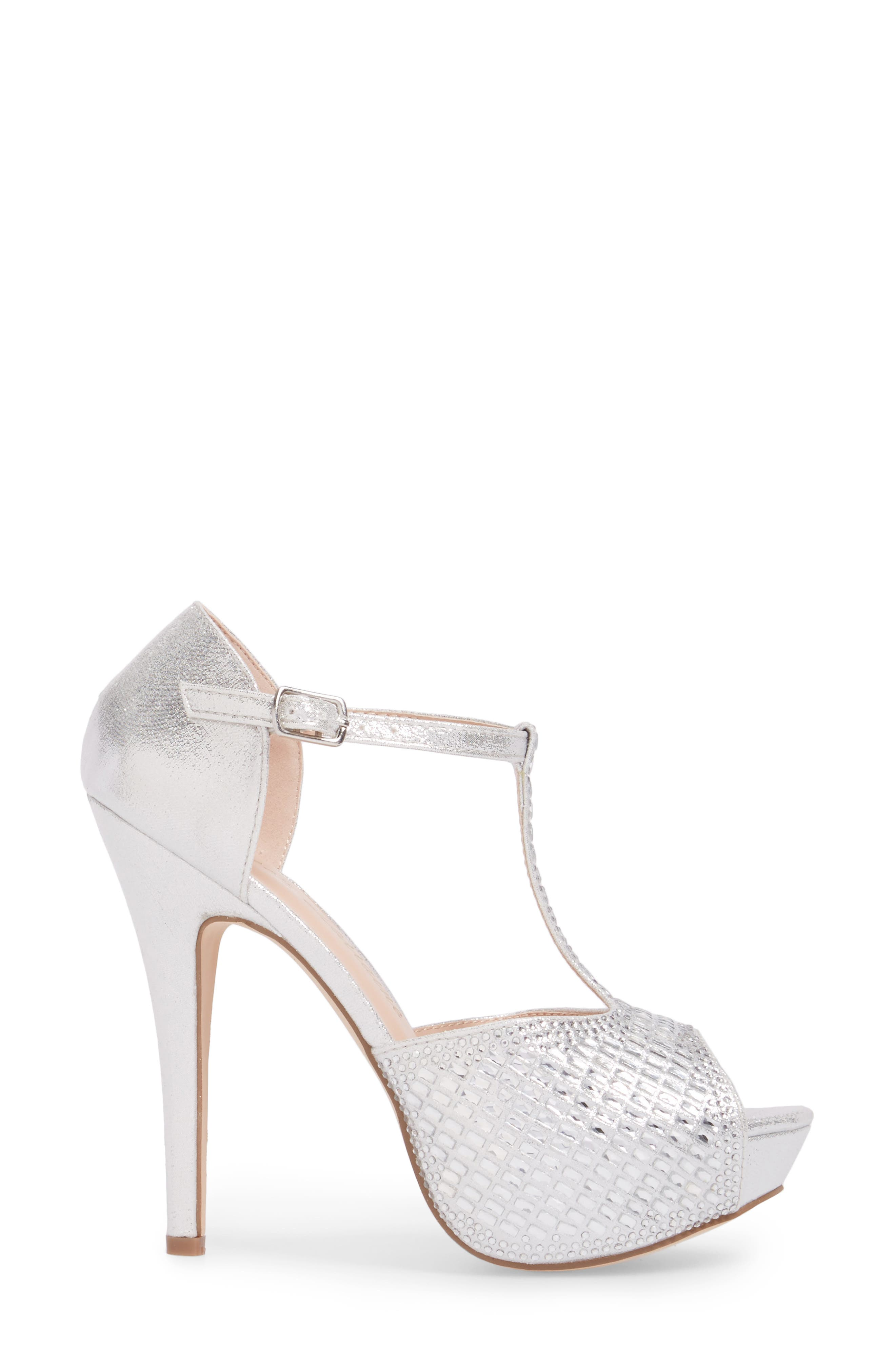 Vivian 4 Crystal Embellished Sandal,                             Alternate thumbnail 8, color,