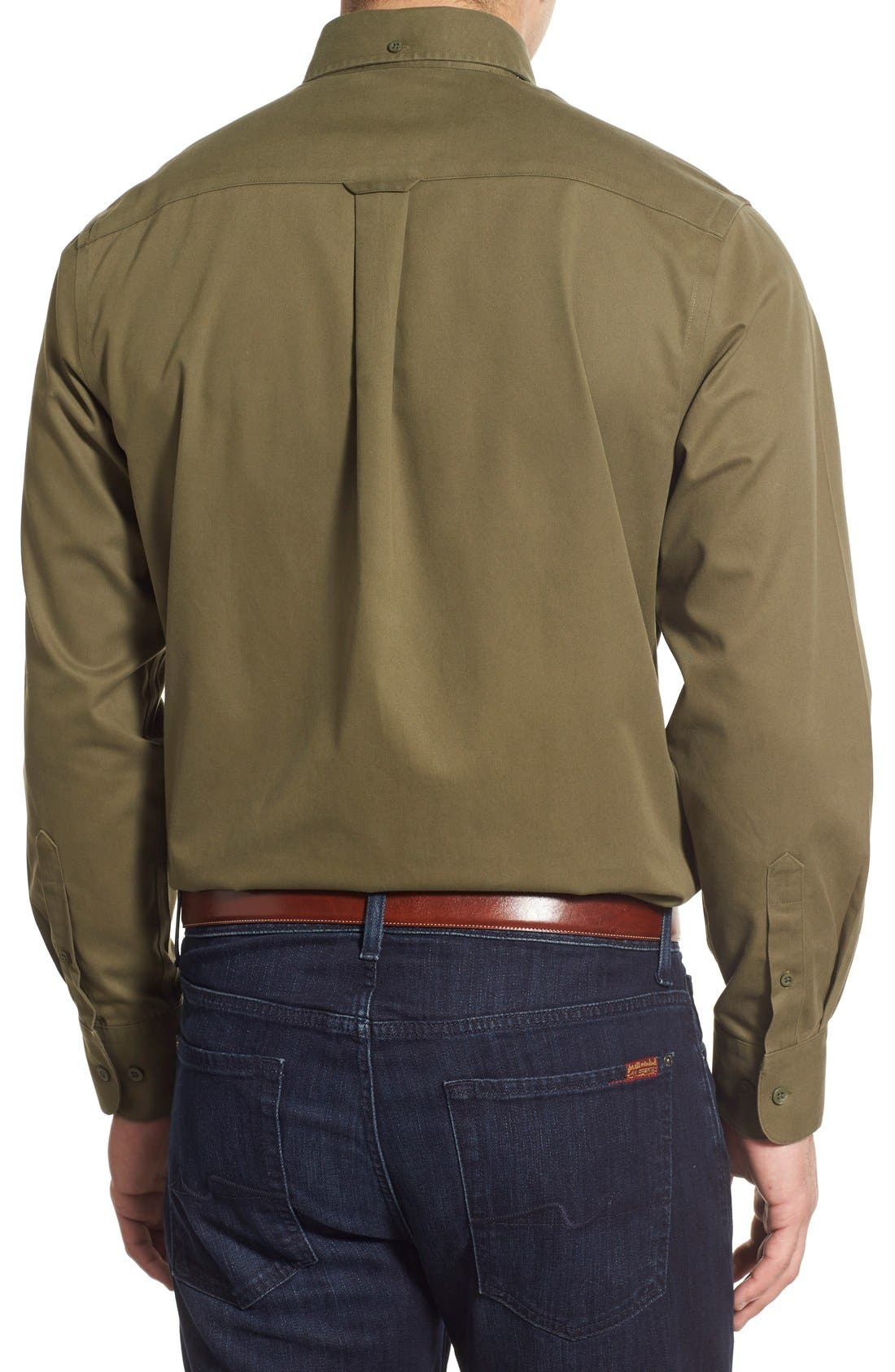 Smartcare<sup>™</sup> Traditional Fit Twill Boat Shirt,                             Alternate thumbnail 55, color,