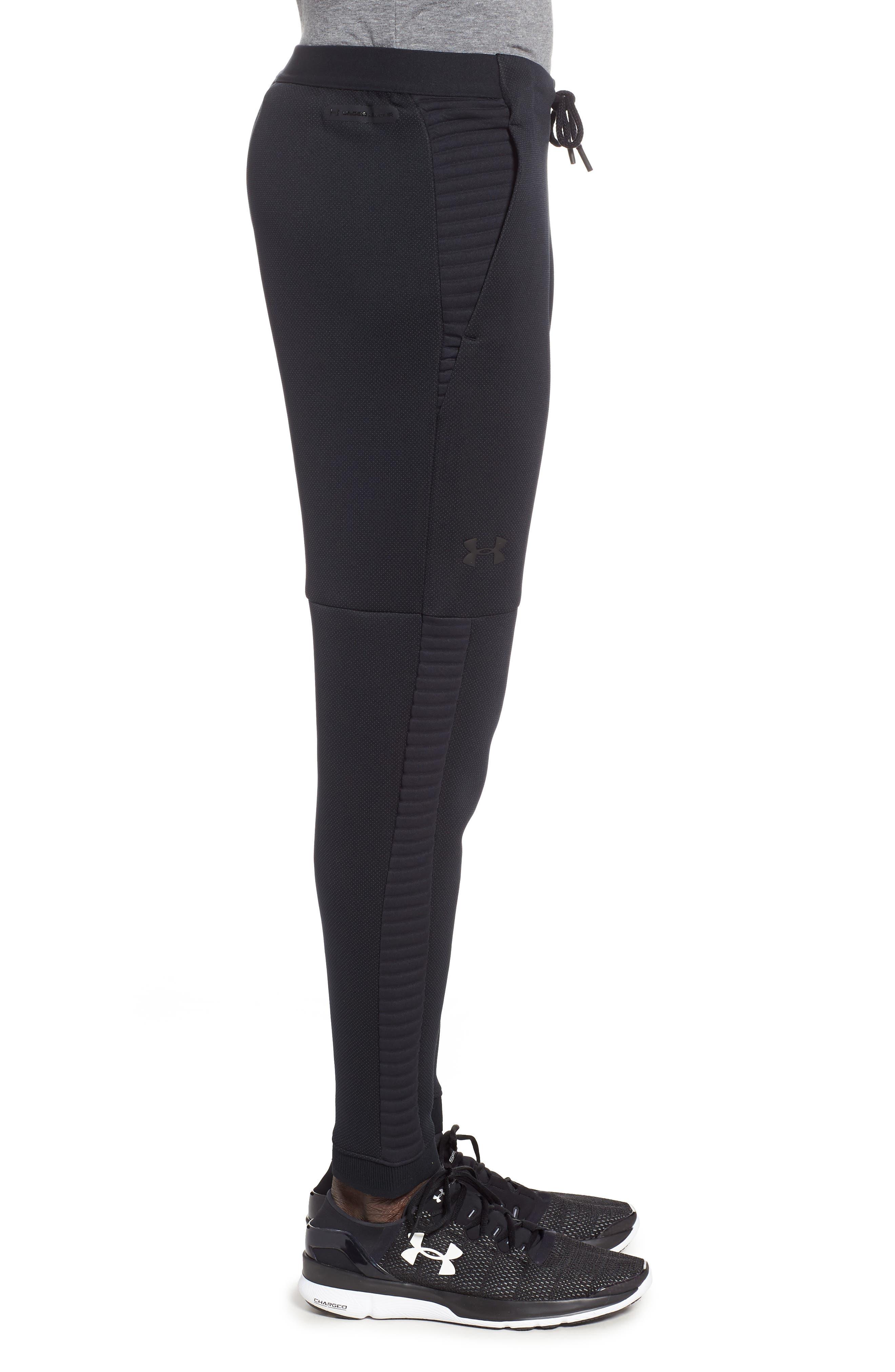 Unstoppable Move Airgap Pants,                             Alternate thumbnail 3, color,                             BLACK/ CHARCOAL/ BLACK