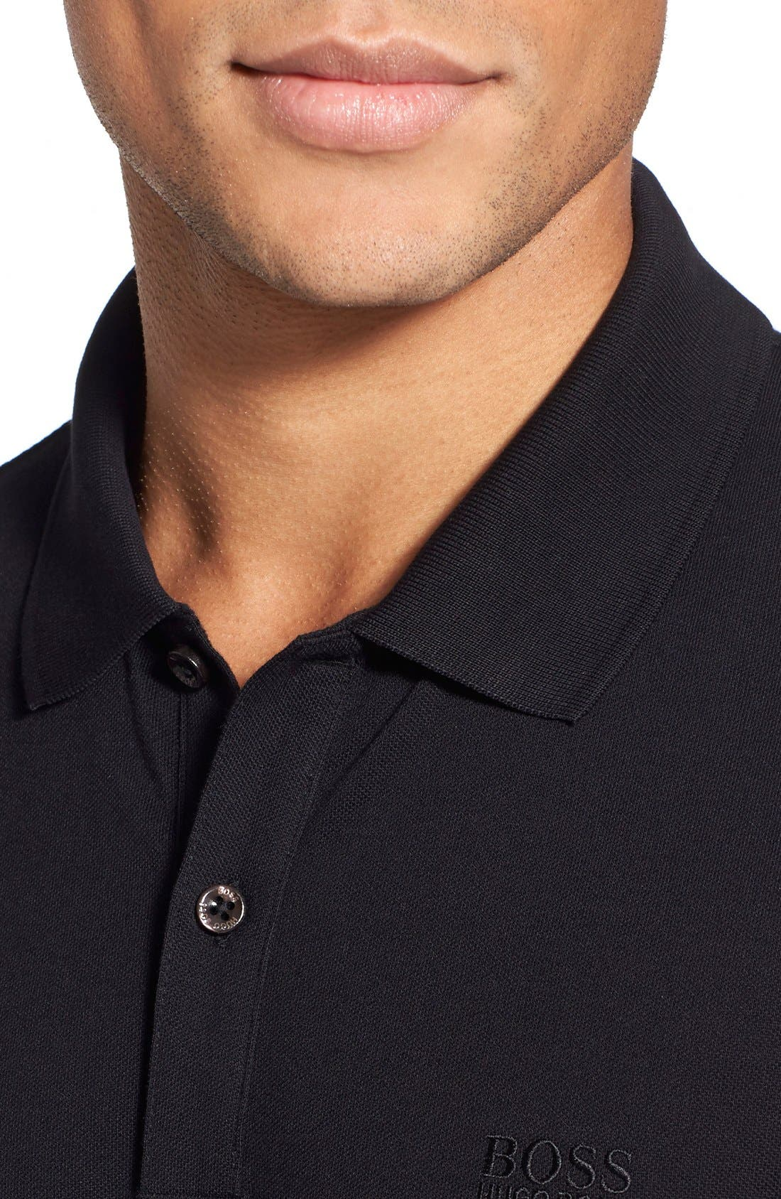 'Pallas' Regular Fit Logo Embroidered Polo Shirt,                             Alternate thumbnail 37, color,
