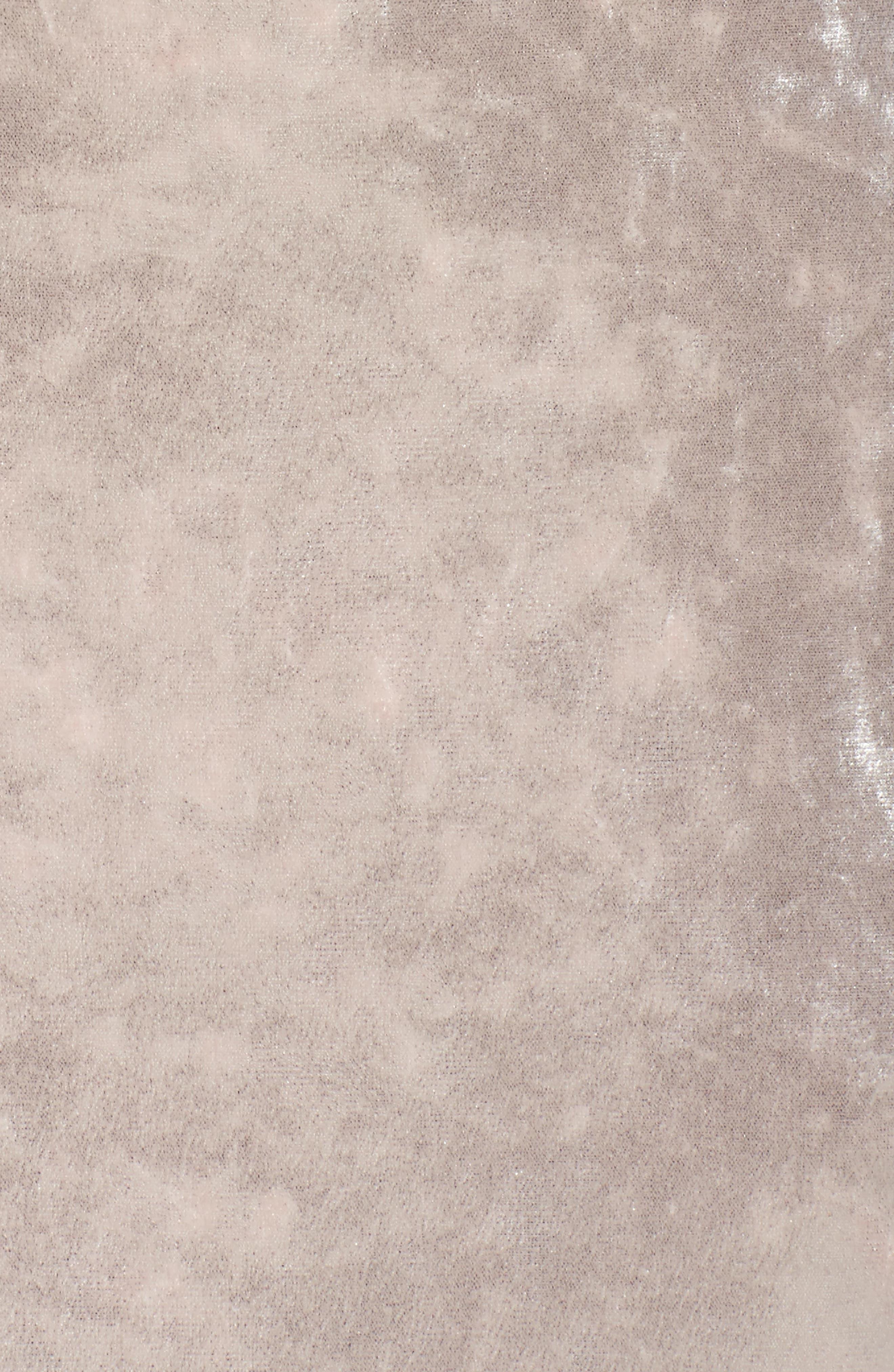 Strappy Velvet Gown,                             Alternate thumbnail 5, color,                             273