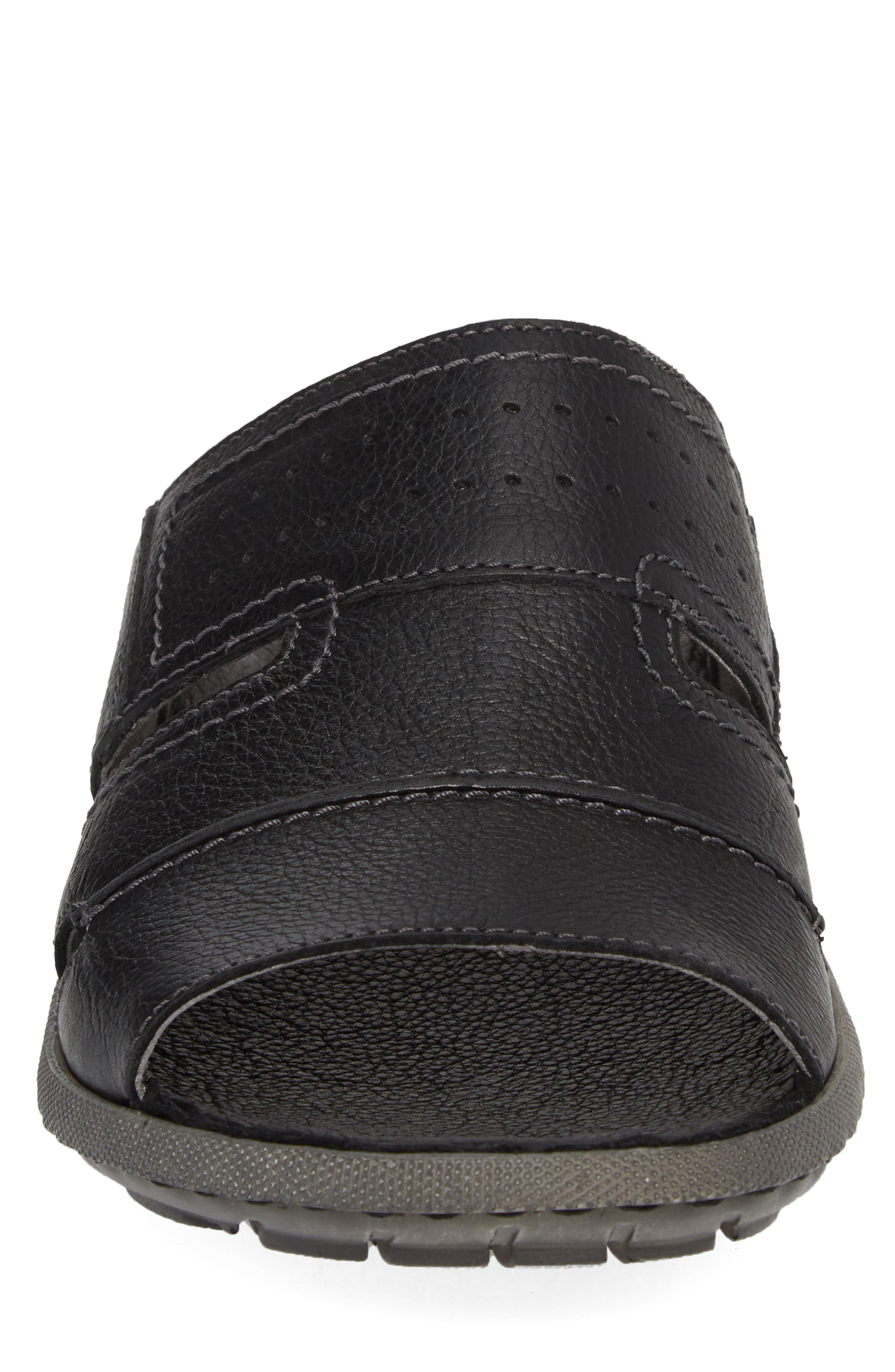 Logan Slide Sandal,                             Alternate thumbnail 4, color,                             004