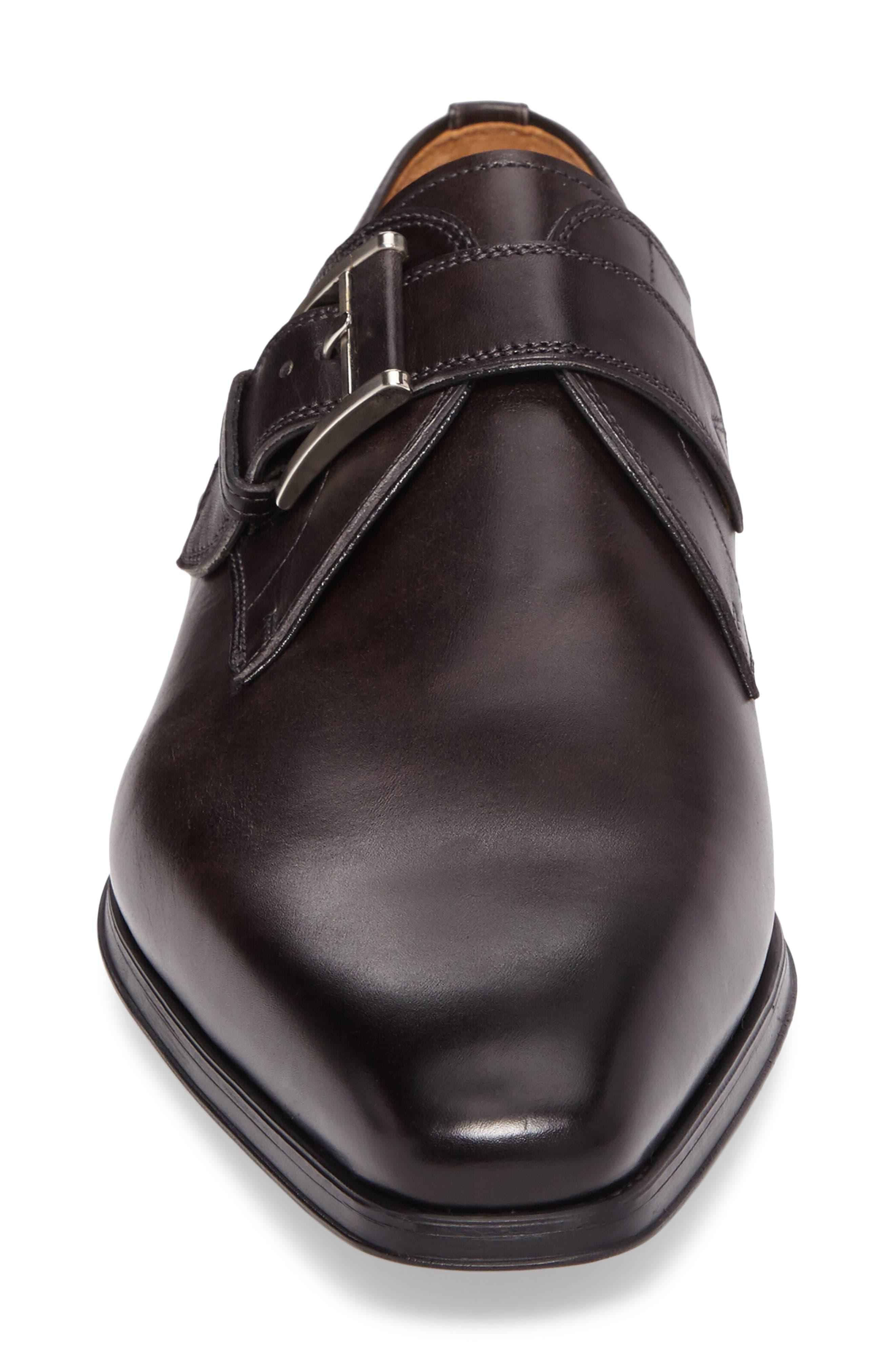 'Hugo' Monk Strap Slip-On,                             Alternate thumbnail 4, color,                             020