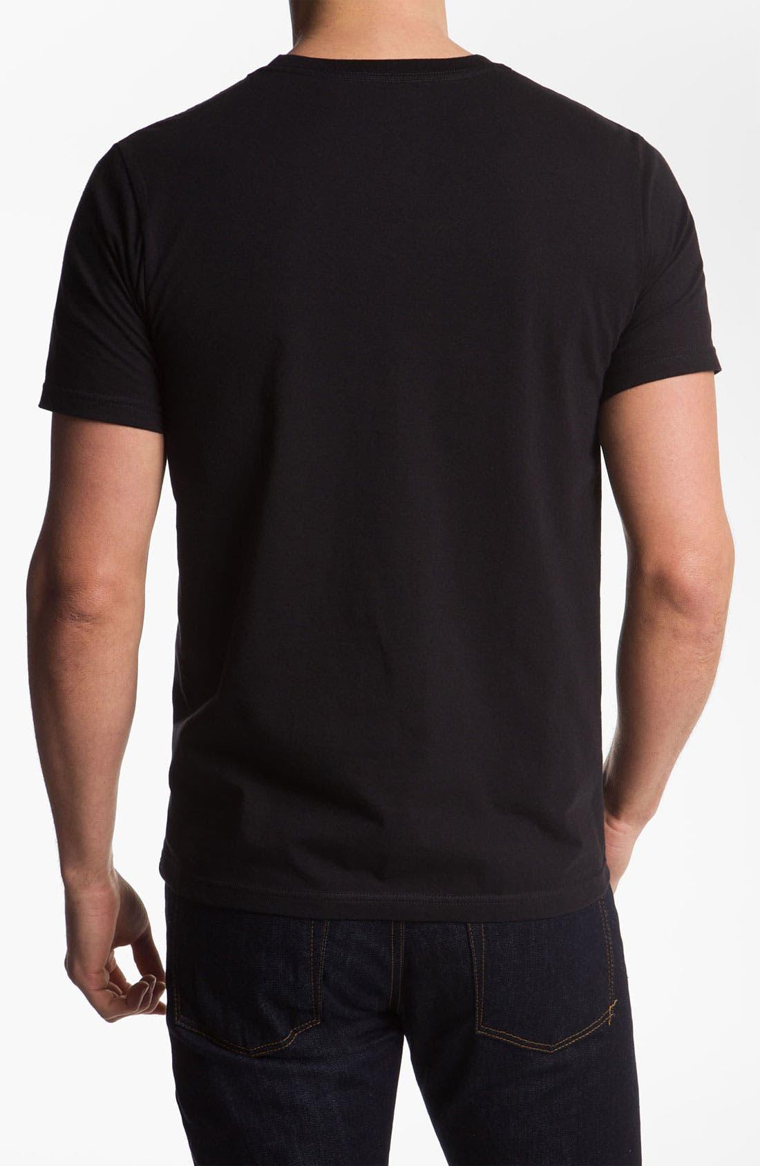 'Krush Flamo' T-Shirt,                             Alternate thumbnail 2, color,                             001