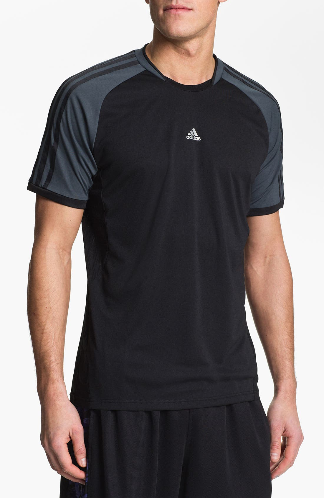 '365 Core' CLIMACOOL<sup>®</sup> T-Shirt,                             Main thumbnail 1, color,                             001