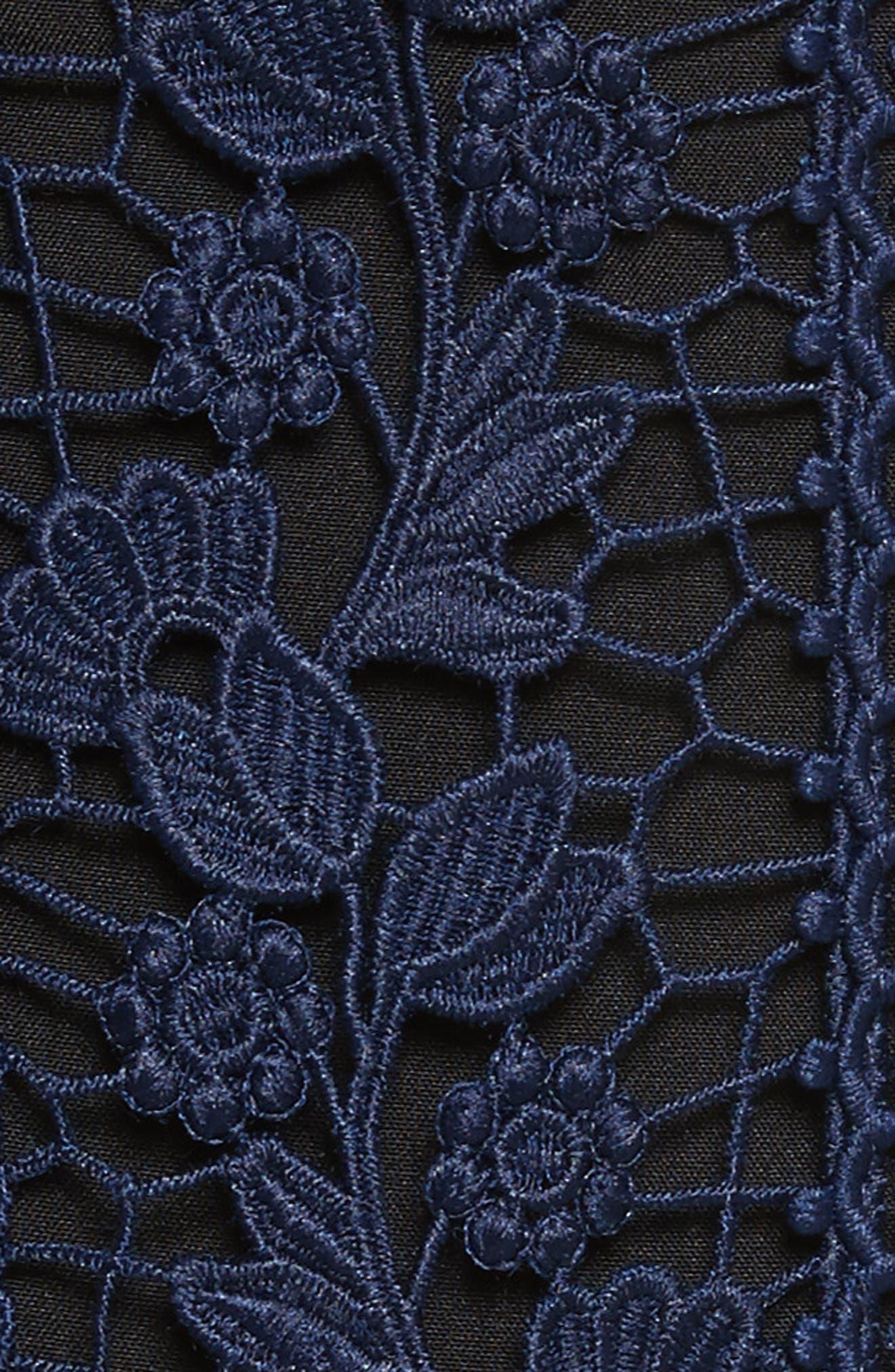 Bellis Lace Dress,                             Alternate thumbnail 5, color,                             400
