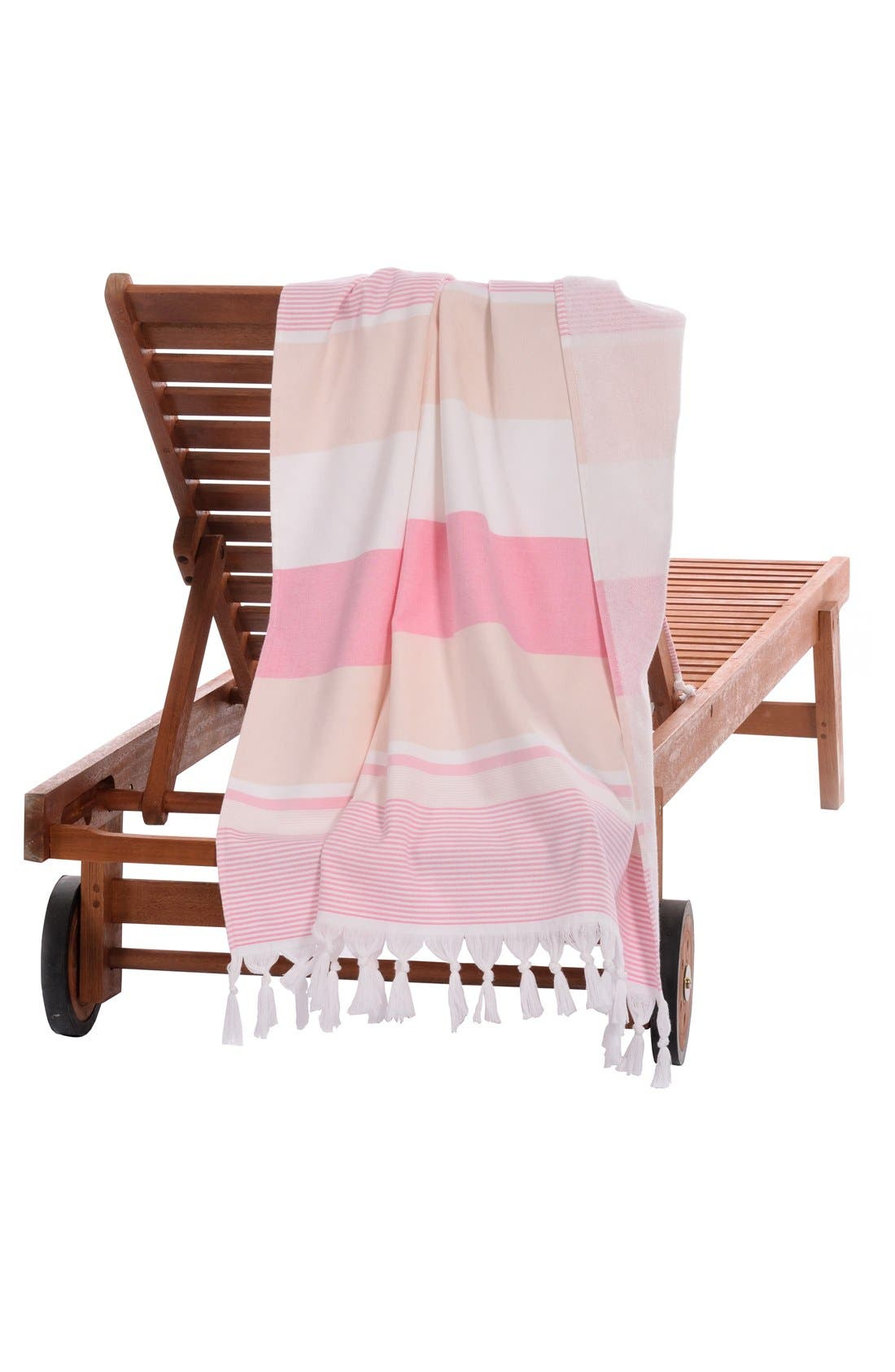 'Summer Loving' Turkish Pestemal Towel,                             Alternate thumbnail 3, color,                             650