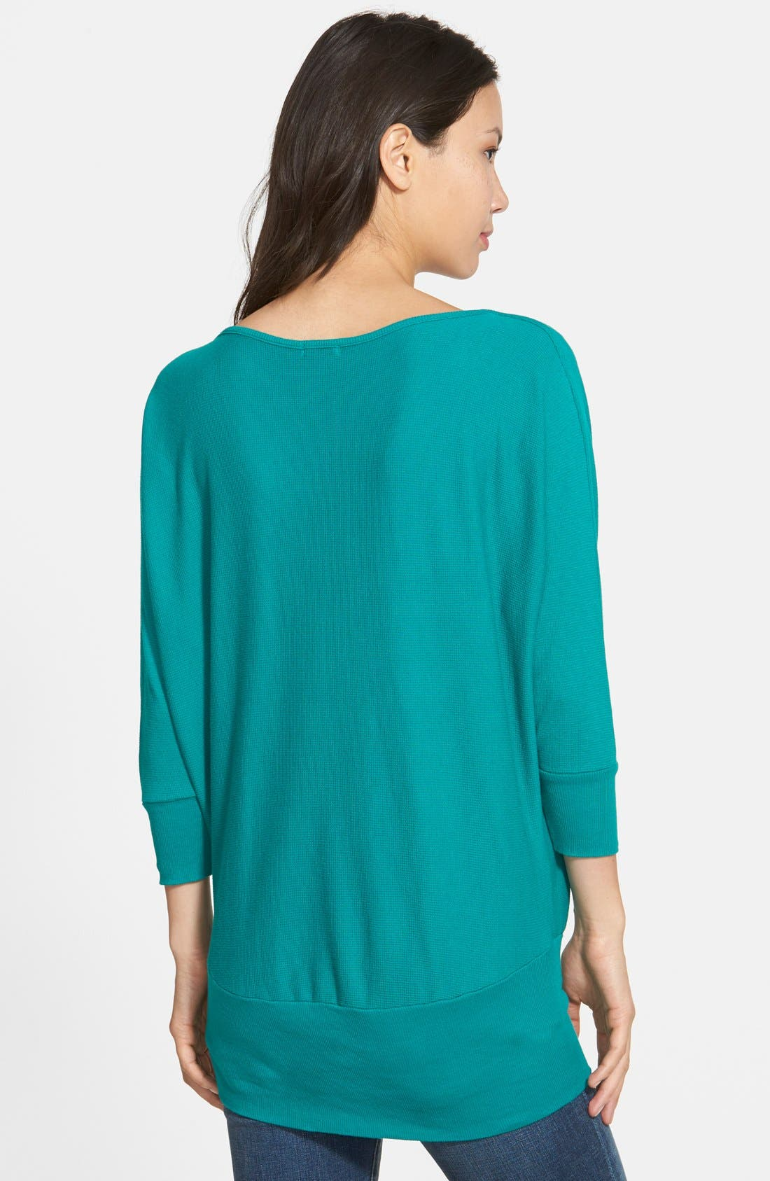 'Aidan' Drape Neck Thermal Top,                             Alternate thumbnail 15, color,