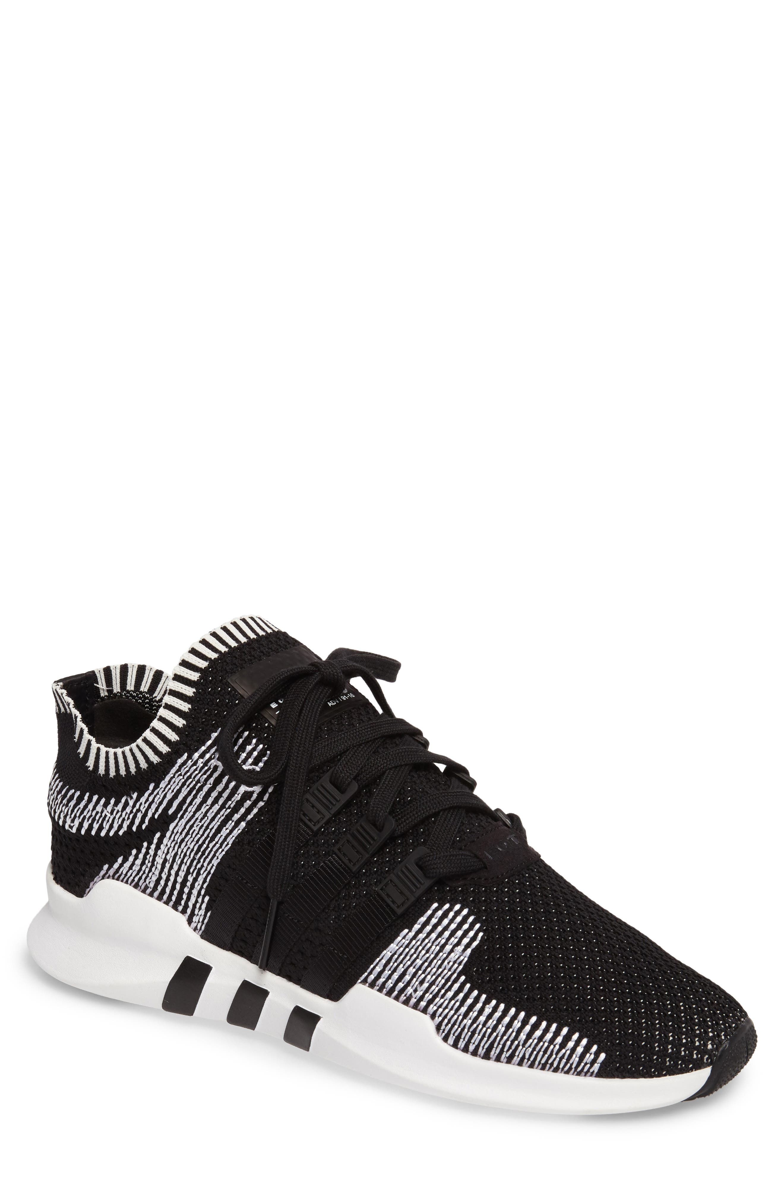 EQT Support ADV PrimeKnit Sneaker,                             Main thumbnail 1, color,                             001