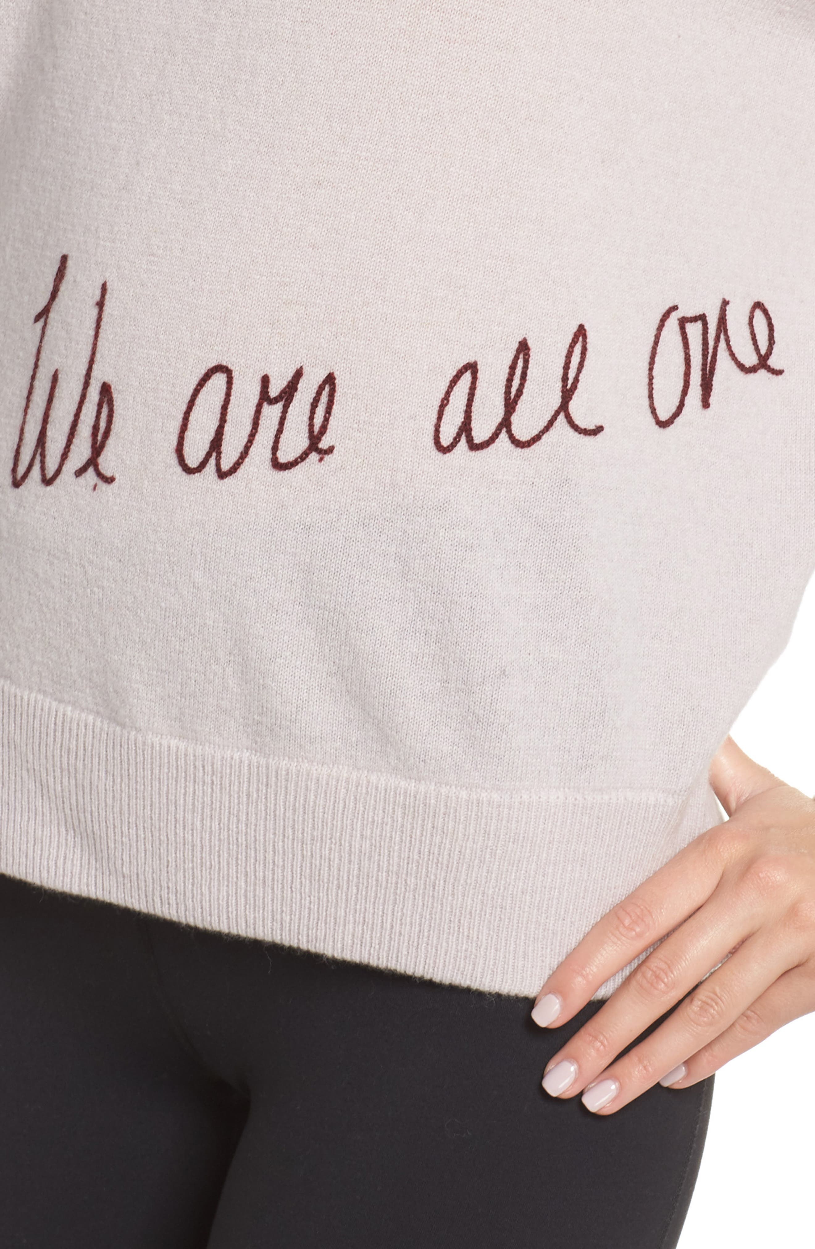 We Are All One Sweater,                             Alternate thumbnail 4, color,                             650