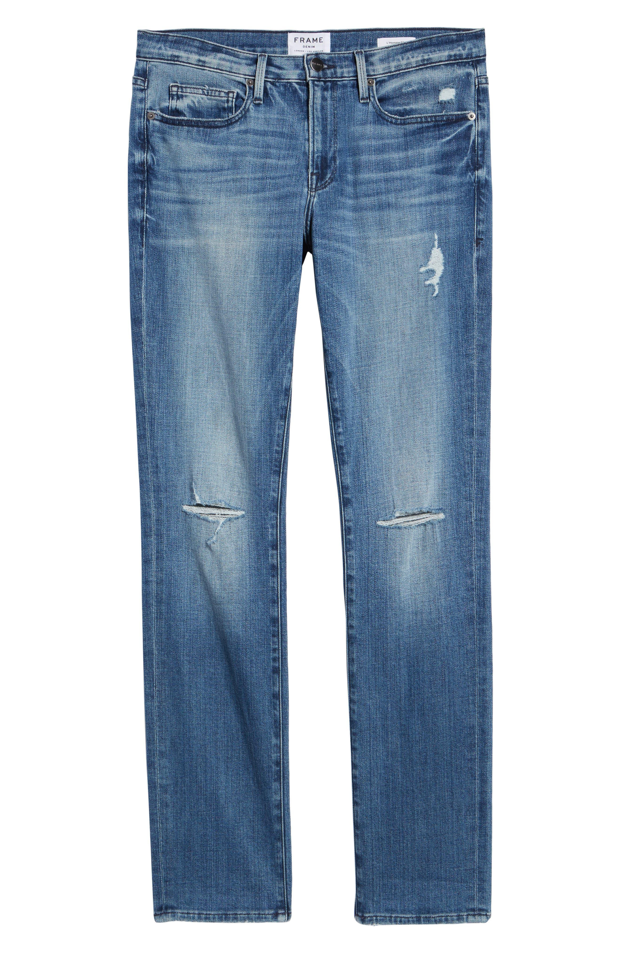 L'Homme Slim Fit Jeans,                             Alternate thumbnail 6, color,                             ARCHES