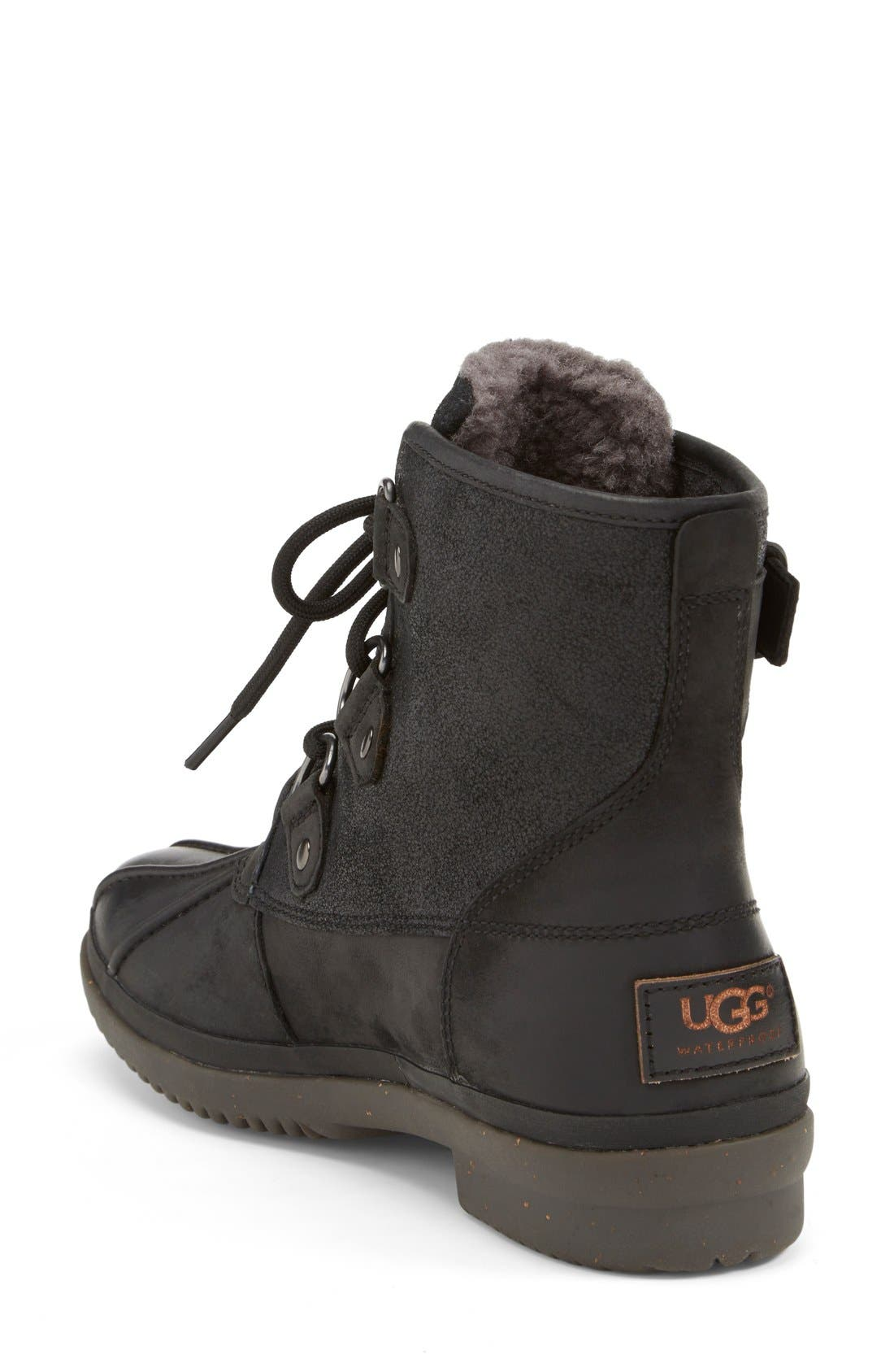 Cecile Waterproof Boot,                             Alternate thumbnail 3, color,