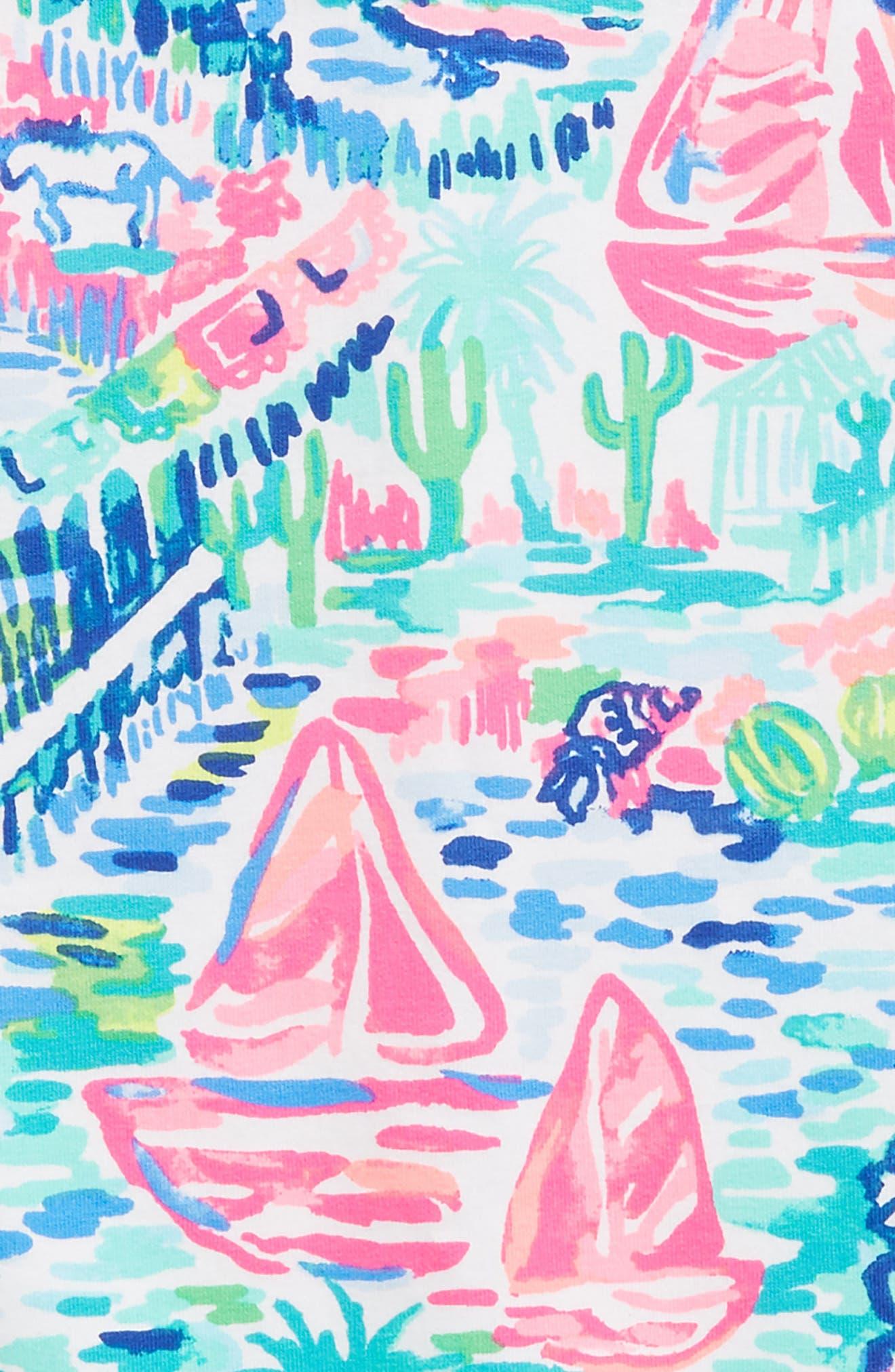 Mini Harper Shift Dress,                             Alternate thumbnail 3, color,                             400