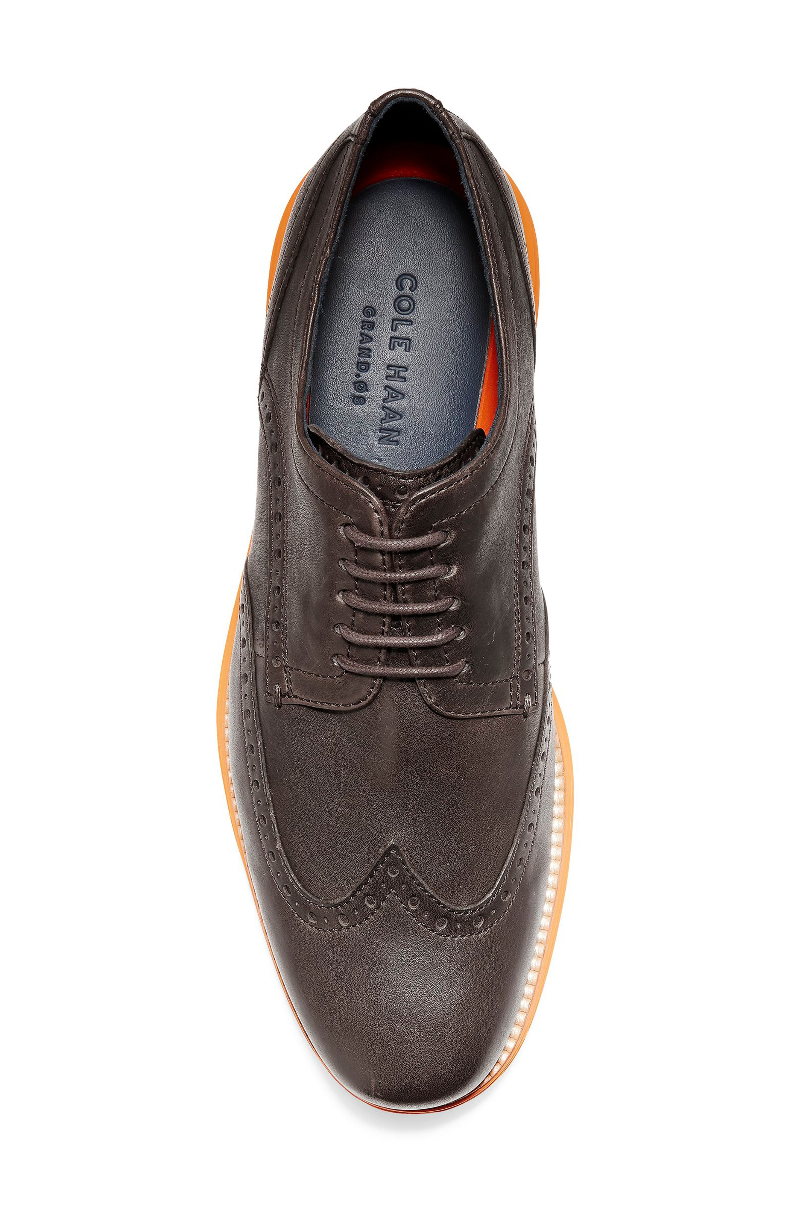 Original Grand Wingtip,                             Alternate thumbnail 5, color,                             JAVA LEATHER