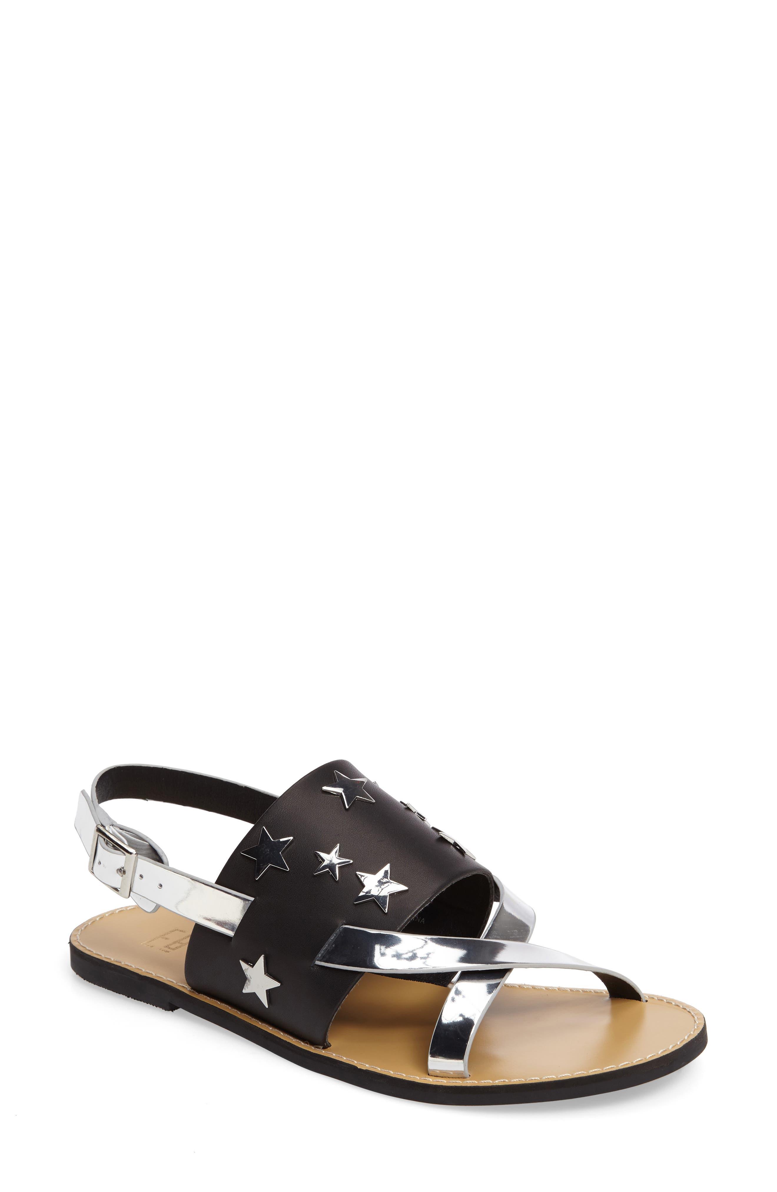 Salome Star Sandal,                         Main,                         color, 001