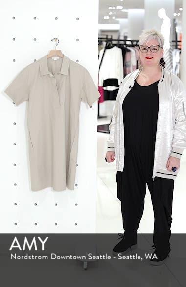 Organic Cotton Poplin Shirtdress, sales video thumbnail