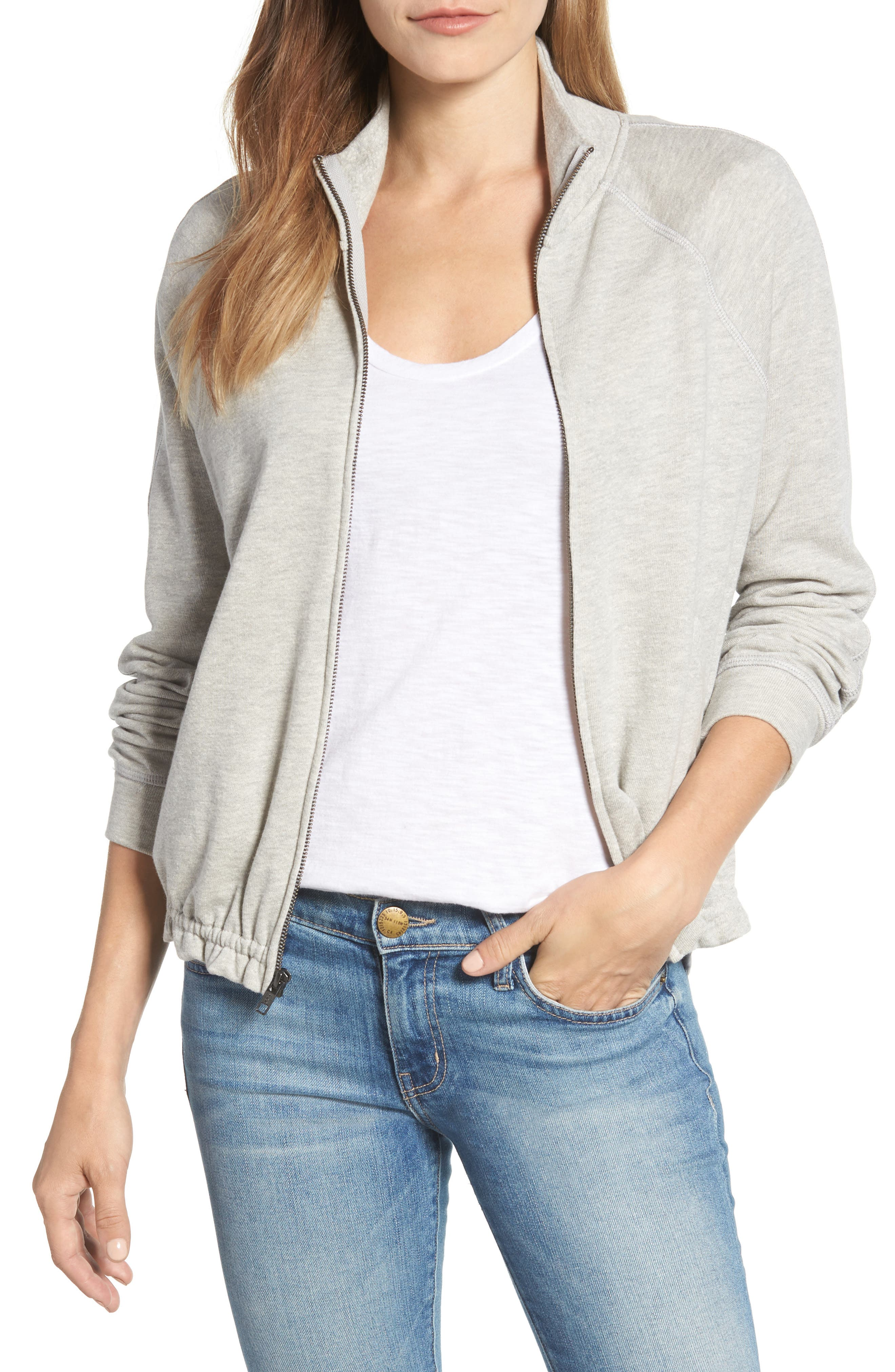 Off-Duty Knit Track Jacket,                         Main,                         color, 030