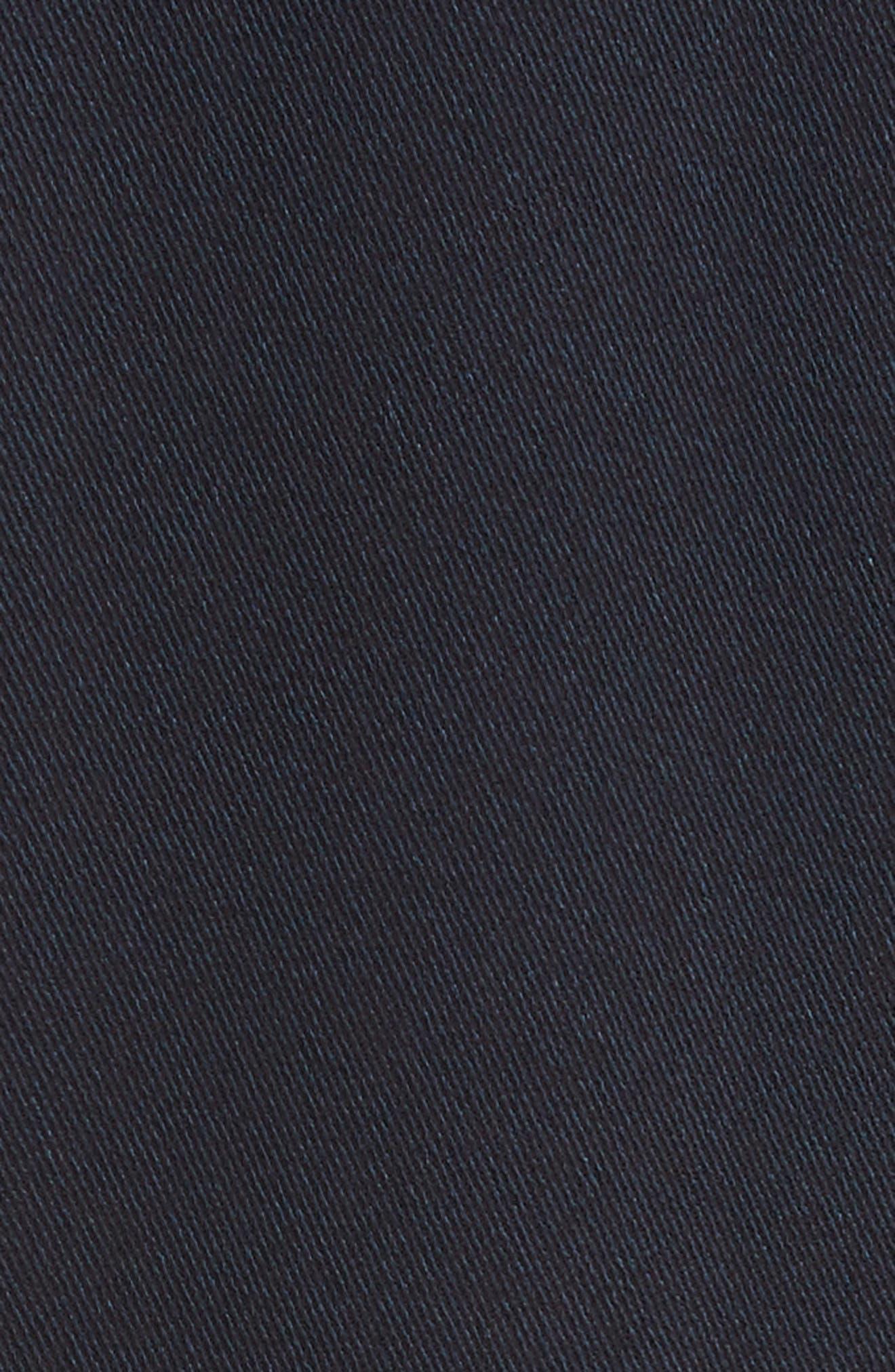 Eco Drape Midi Dress,                             Alternate thumbnail 5, color,                             007