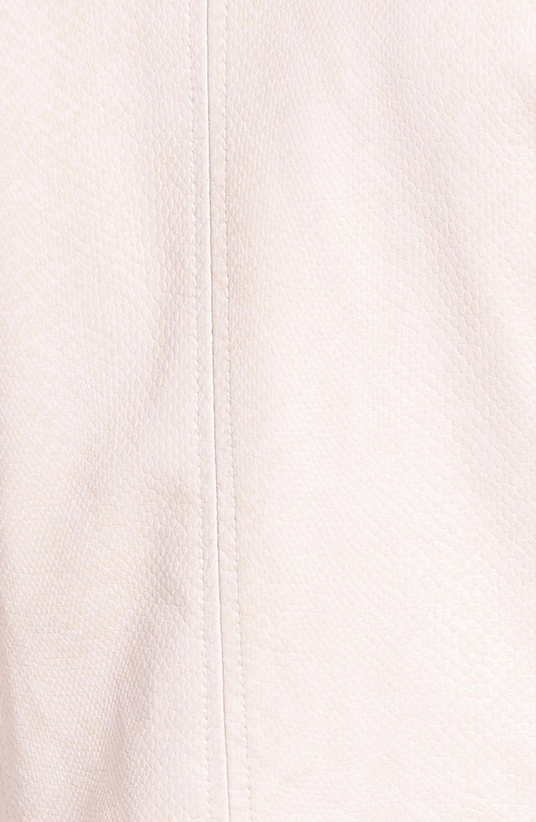 Brooke Faux Leather Moto Jacket,                             Alternate thumbnail 9, color,