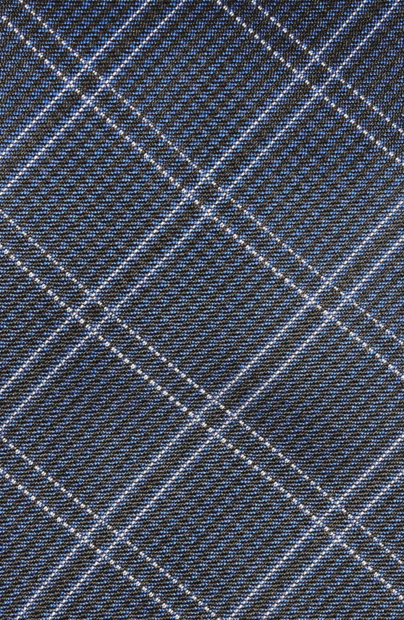 Plaid Silk Tie,                             Alternate thumbnail 2, color,                             409