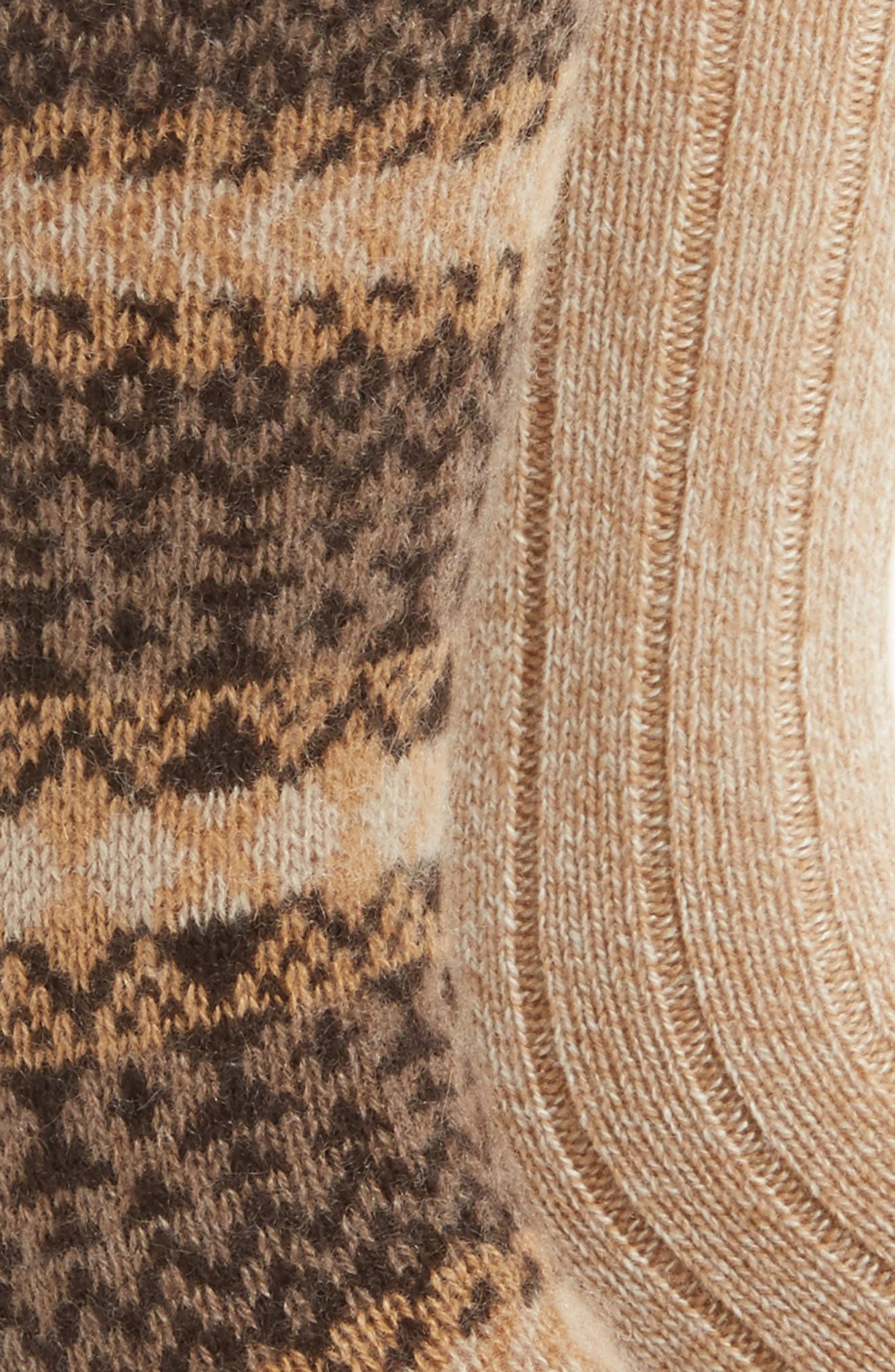 2-Pack Cashmere Blend Socks,                             Alternate thumbnail 8, color,