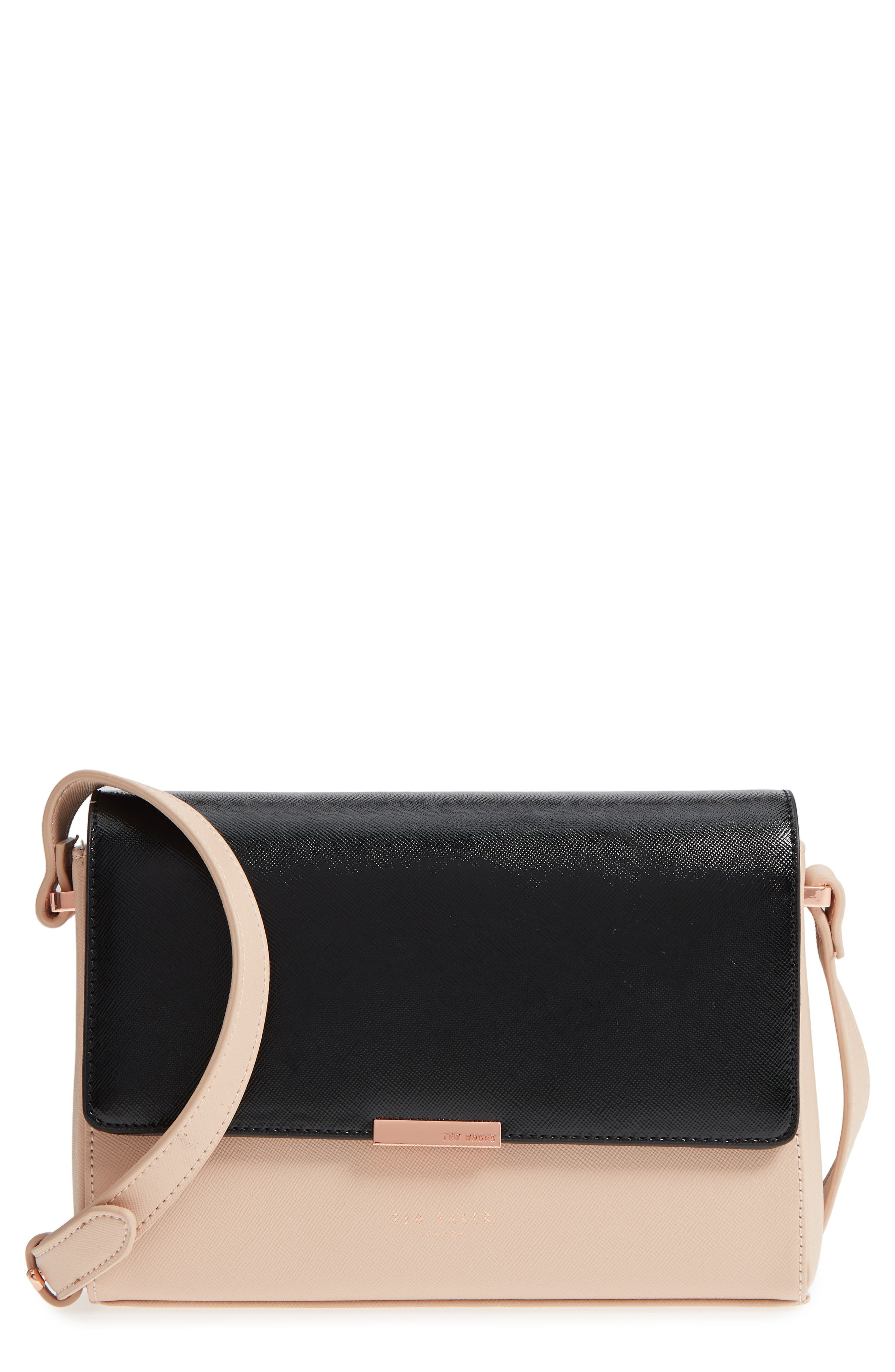 Demonda Faux Leather Crossbody Bag,                             Main thumbnail 2, color,