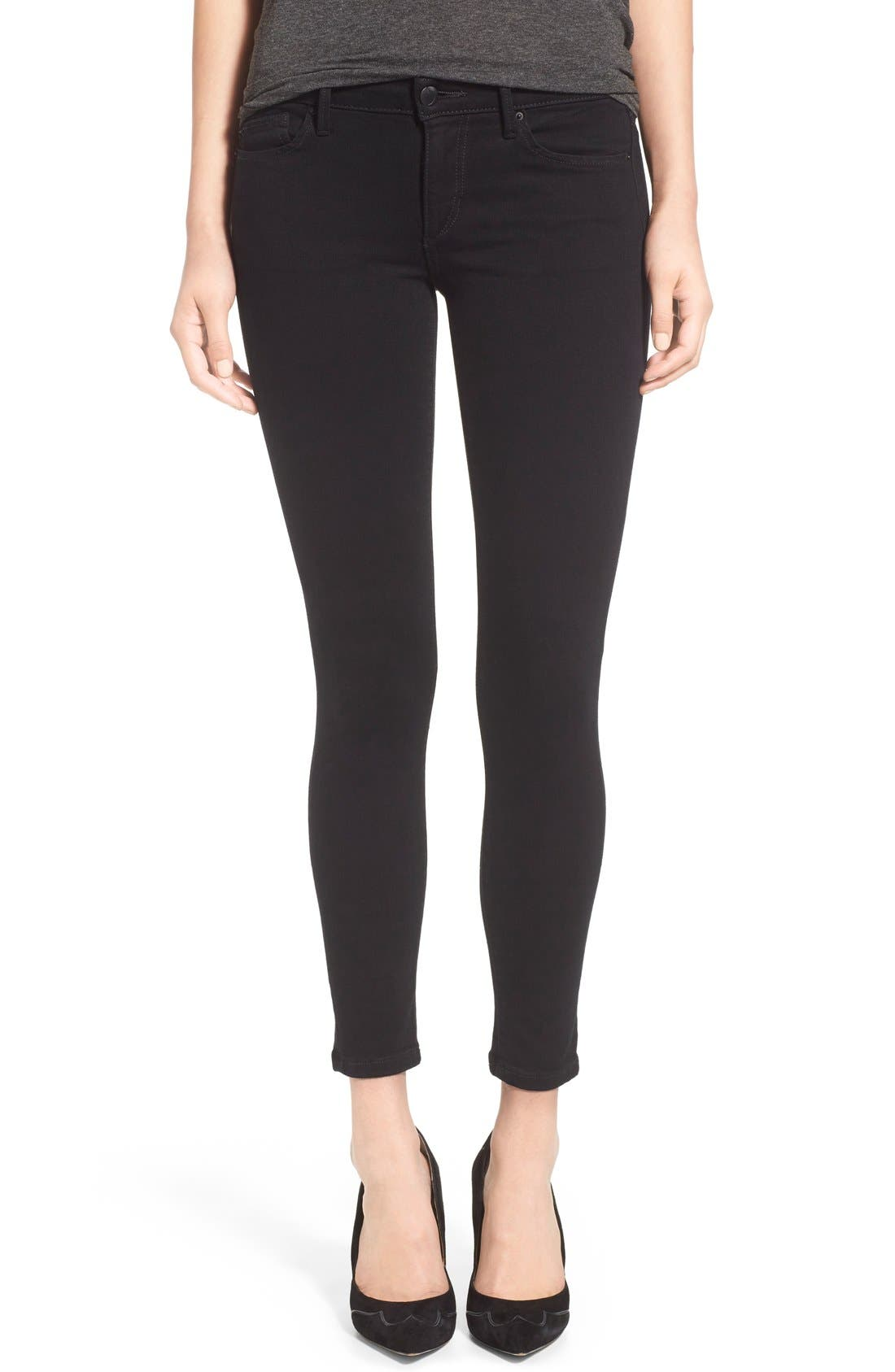 'Flawless - Vixen' Ankle Skinny Jeans,                             Main thumbnail 1, color,                             001