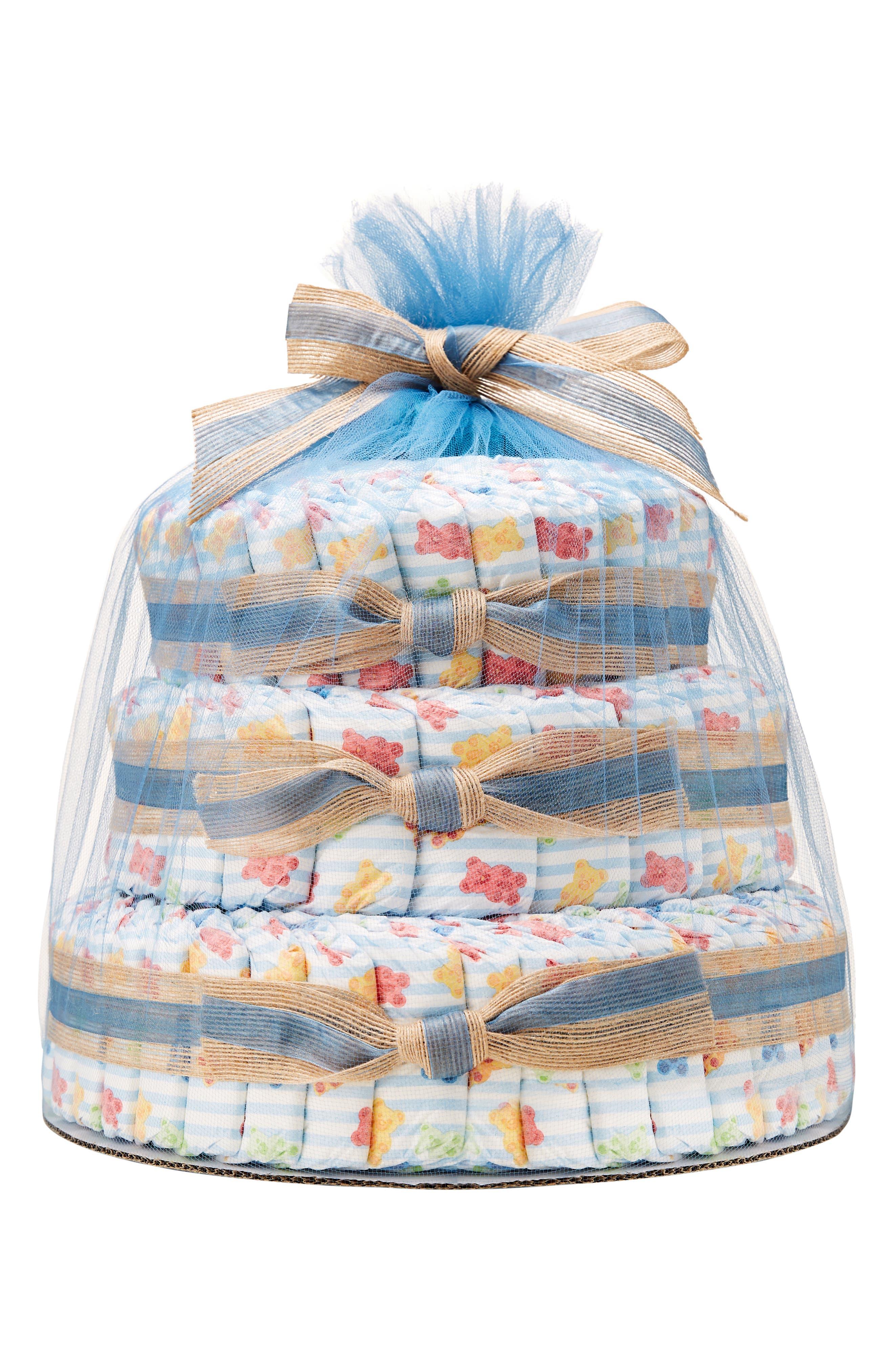 x Sugarfina Boo Bear Large Diaper Cake,                         Main,                         color, BOO BEAR