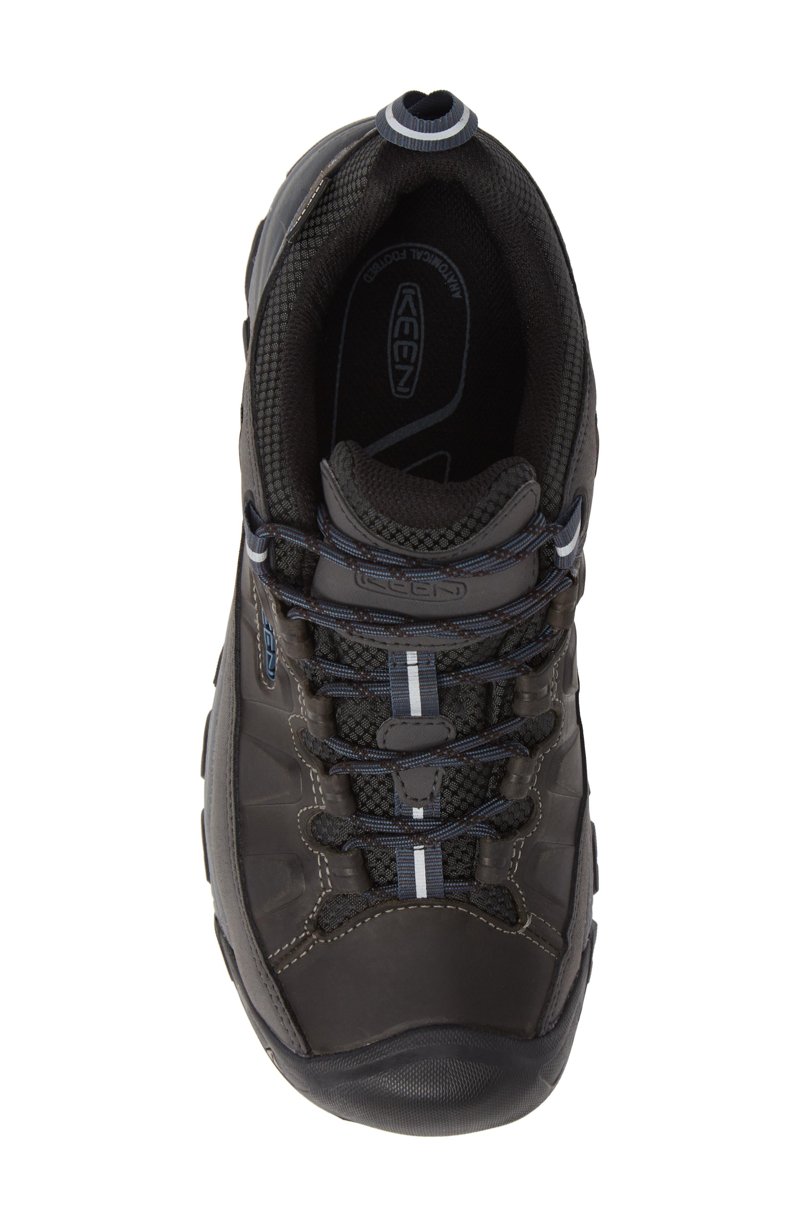 Targhee III Waterproof Hiking Shoe,                             Alternate thumbnail 5, color,                             STEEL GREY/ CAPTAINS BLUE