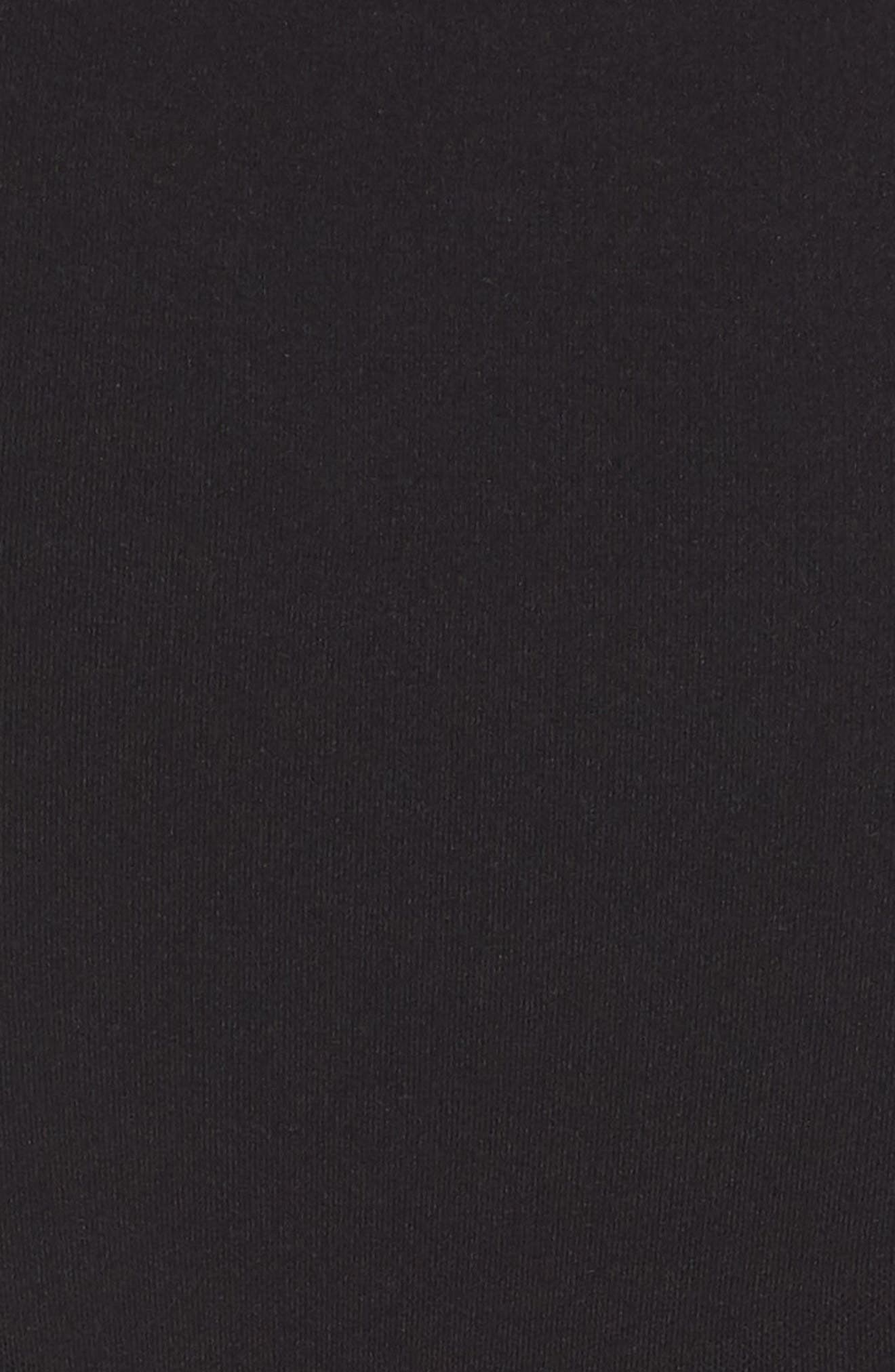 Power Short Mid Thigh Shaper,                             Alternate thumbnail 6, color,                             VERY BLACK