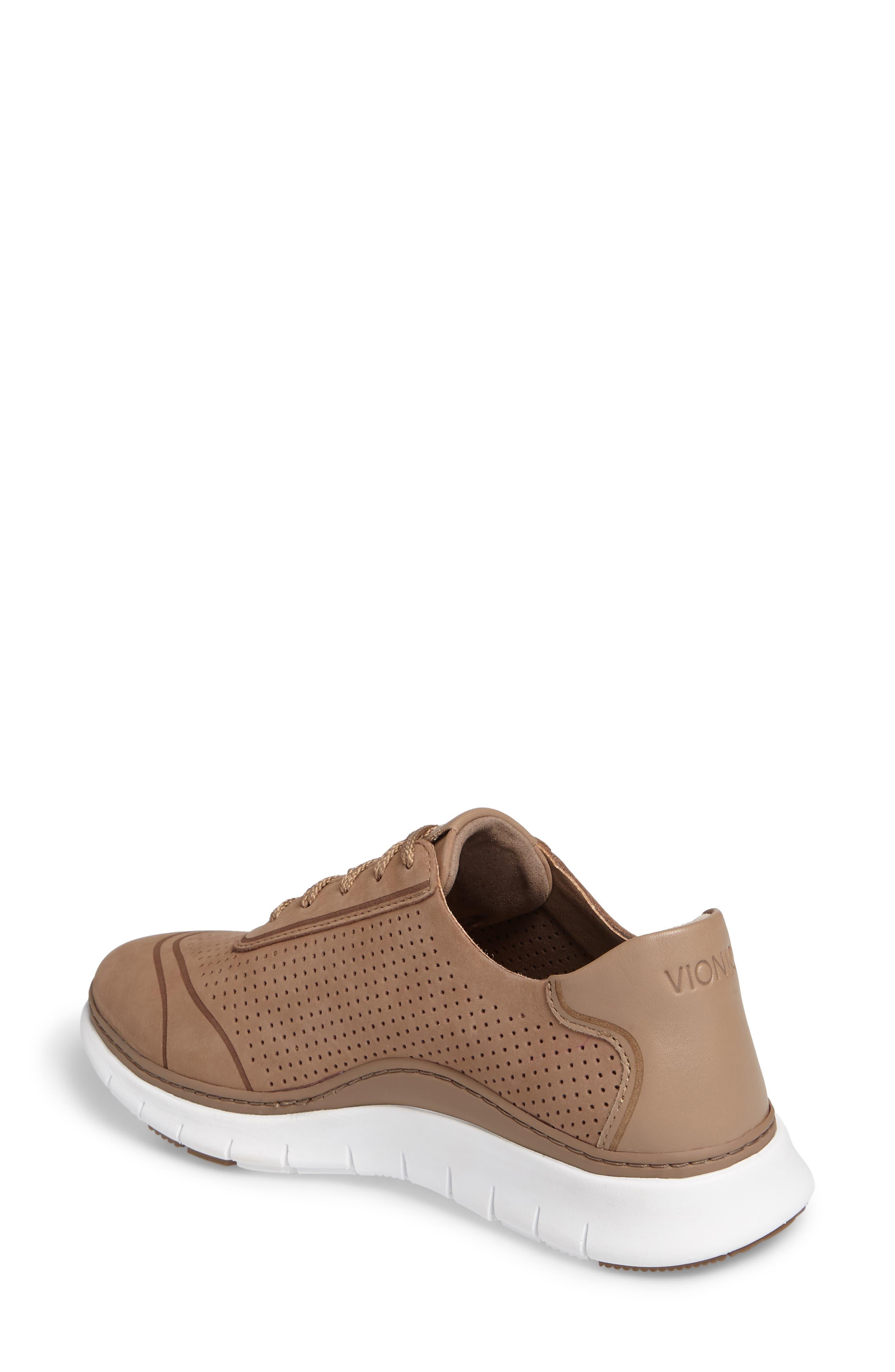 Fresh Riley Perforated Sneaker,                             Alternate thumbnail 7, color,