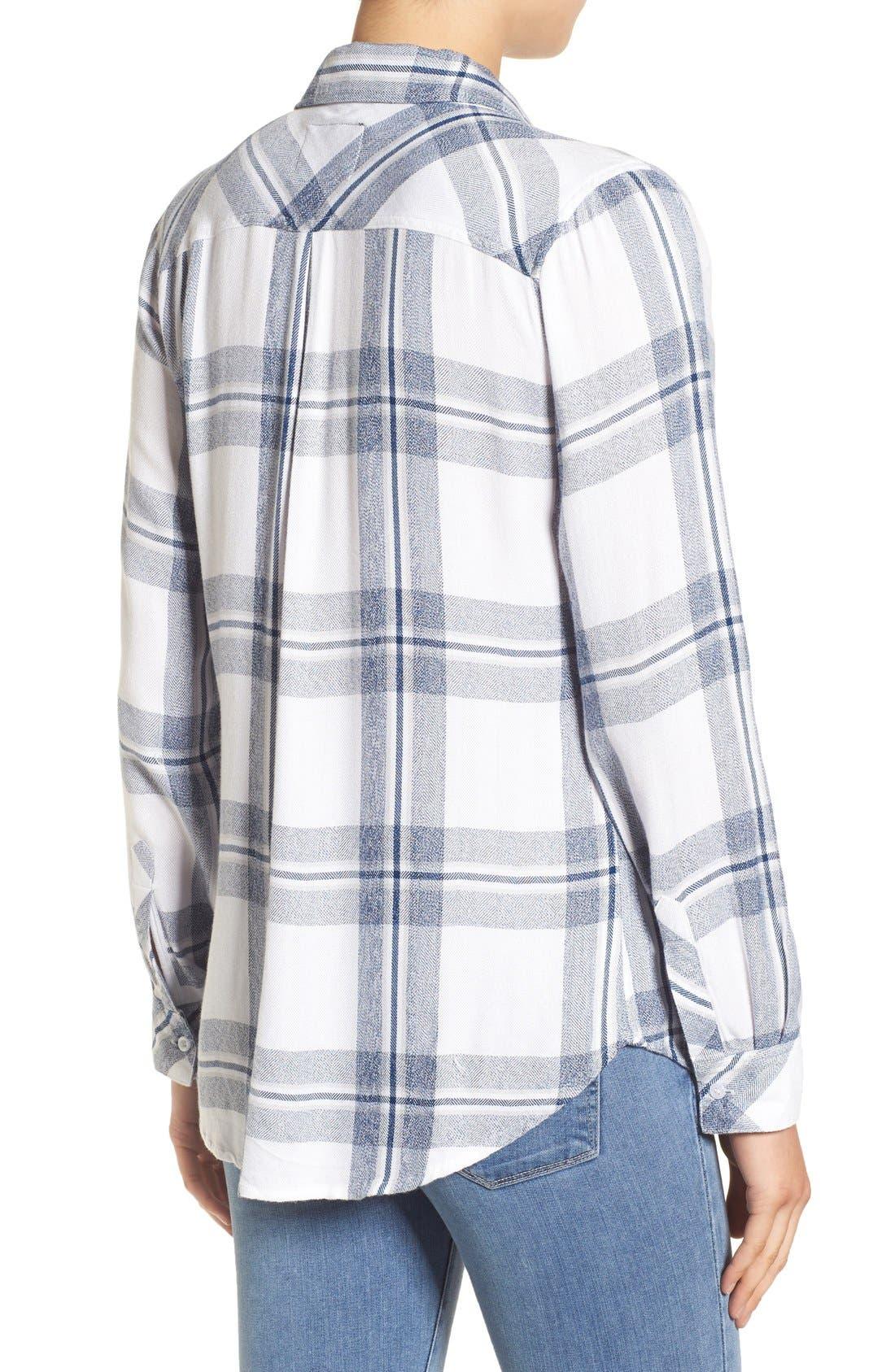 Hunter Plaid Shirt,                             Alternate thumbnail 384, color,