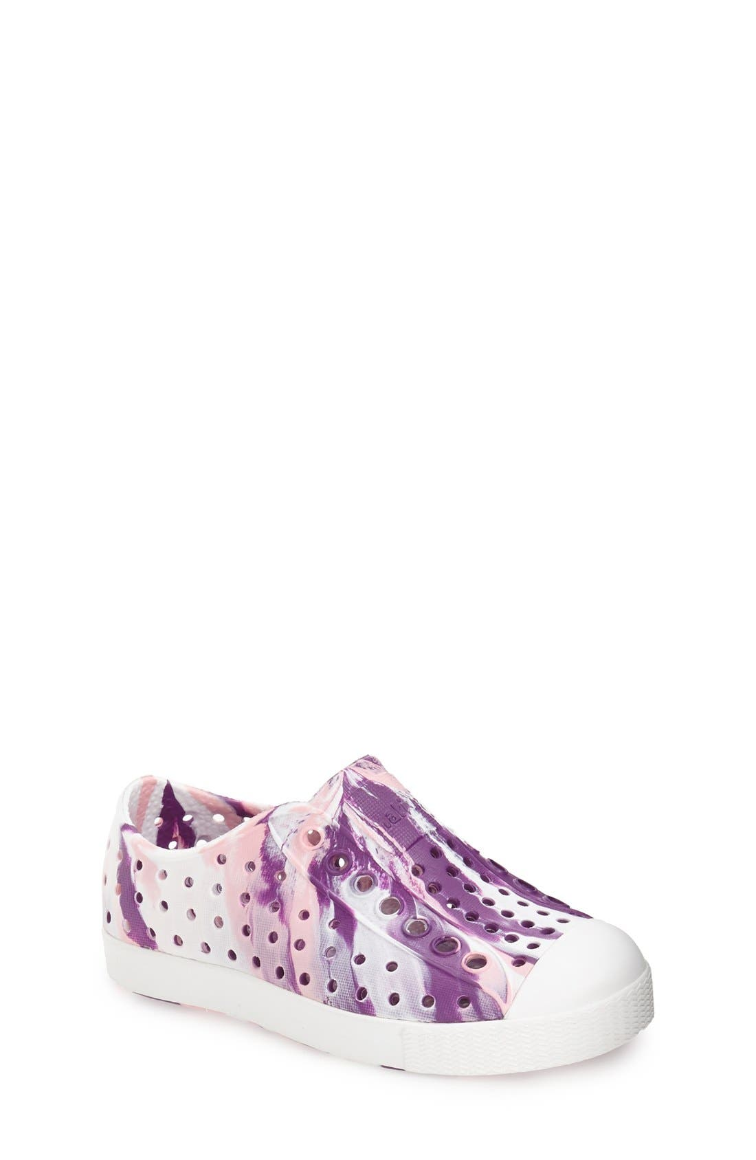 Jefferson - Marbled Perforated Slip-On,                             Main thumbnail 18, color,