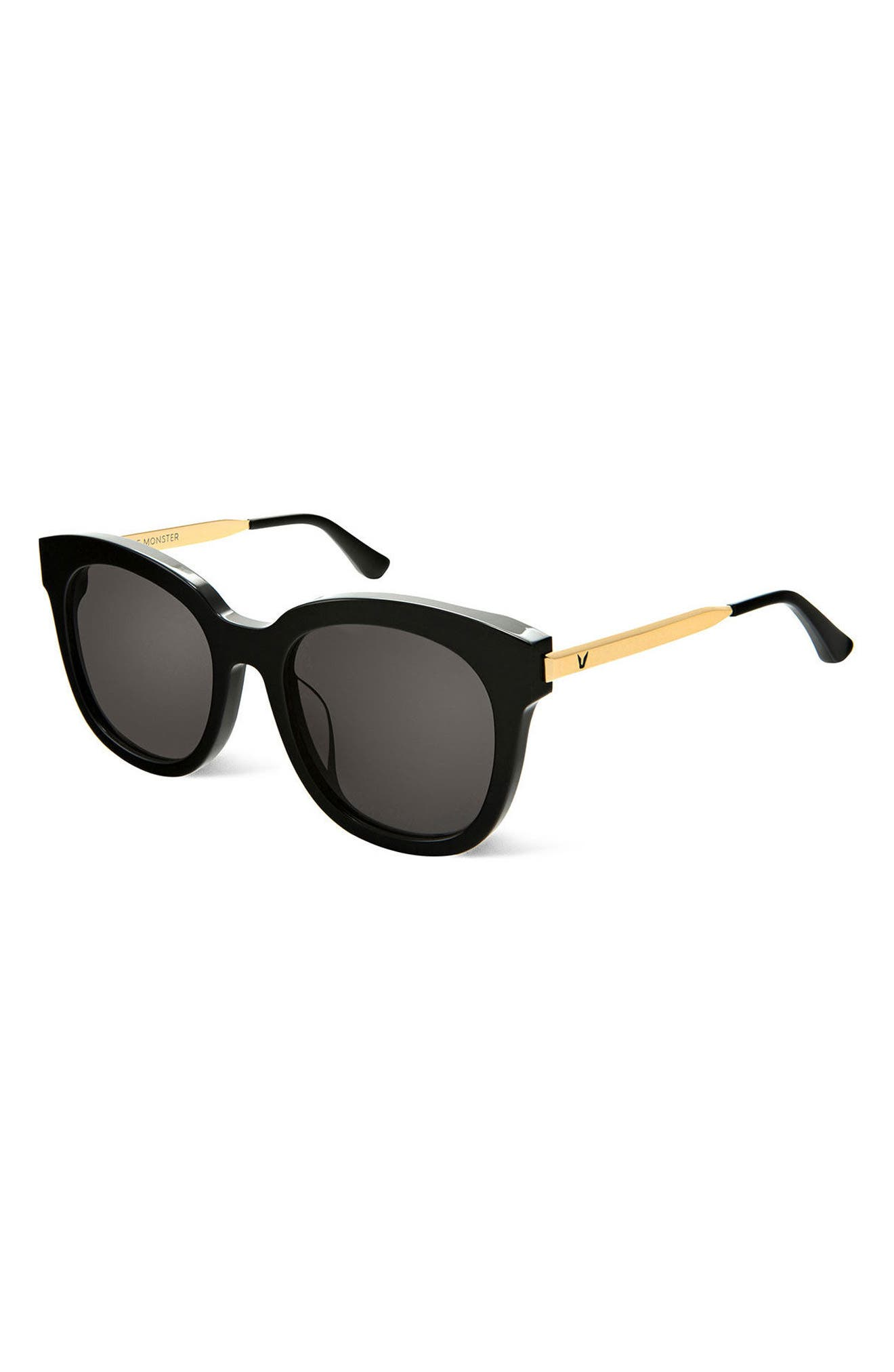 Cuba 55mm Sunglasses,                             Alternate thumbnail 3, color,                             001