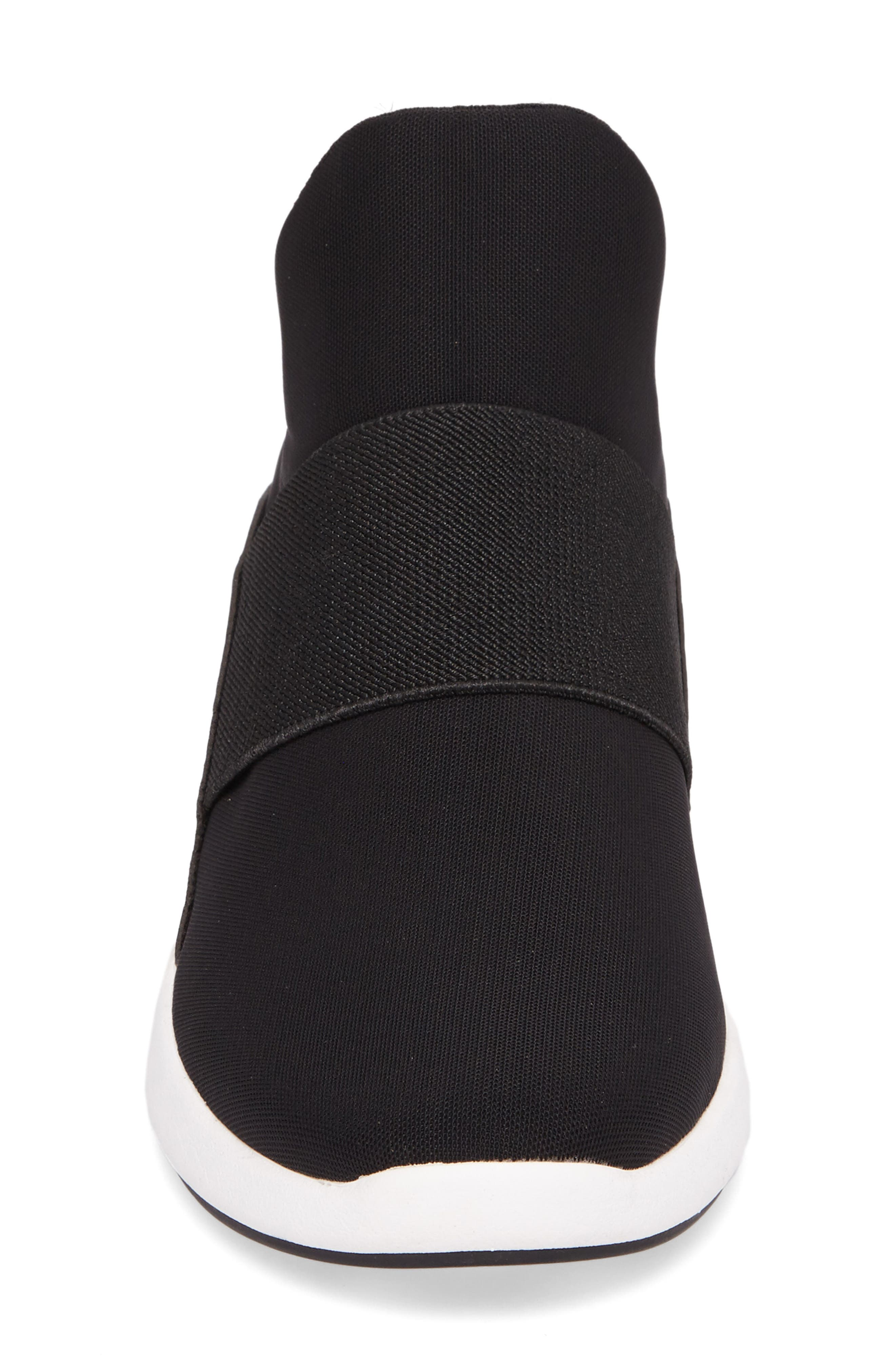 Donna Karan Cory Slip-On Sneaker,                             Alternate thumbnail 4, color,                             001