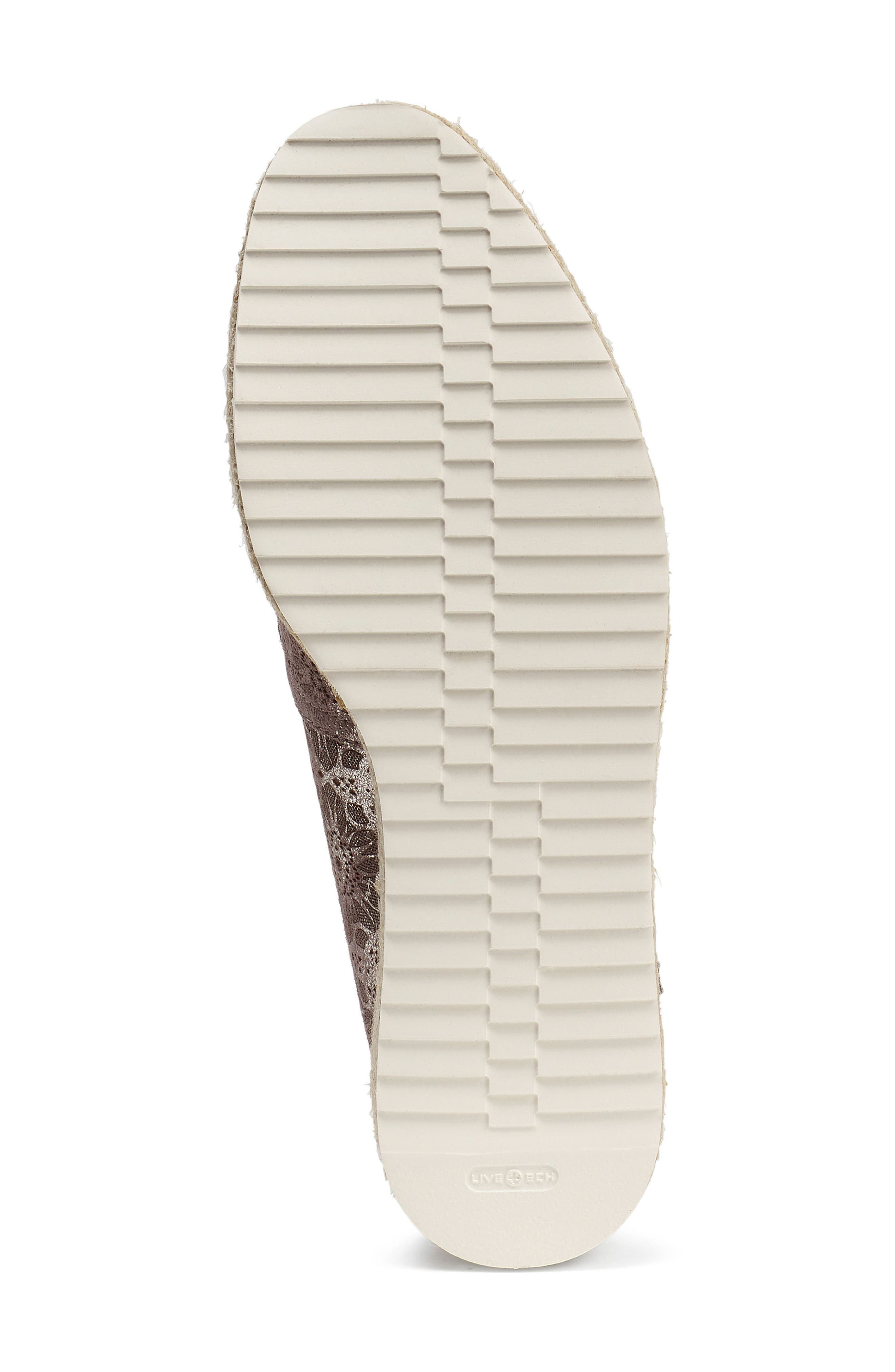 Cailyn Flat,                             Alternate thumbnail 6, color,                             PEWTER METALLIC SUEDE