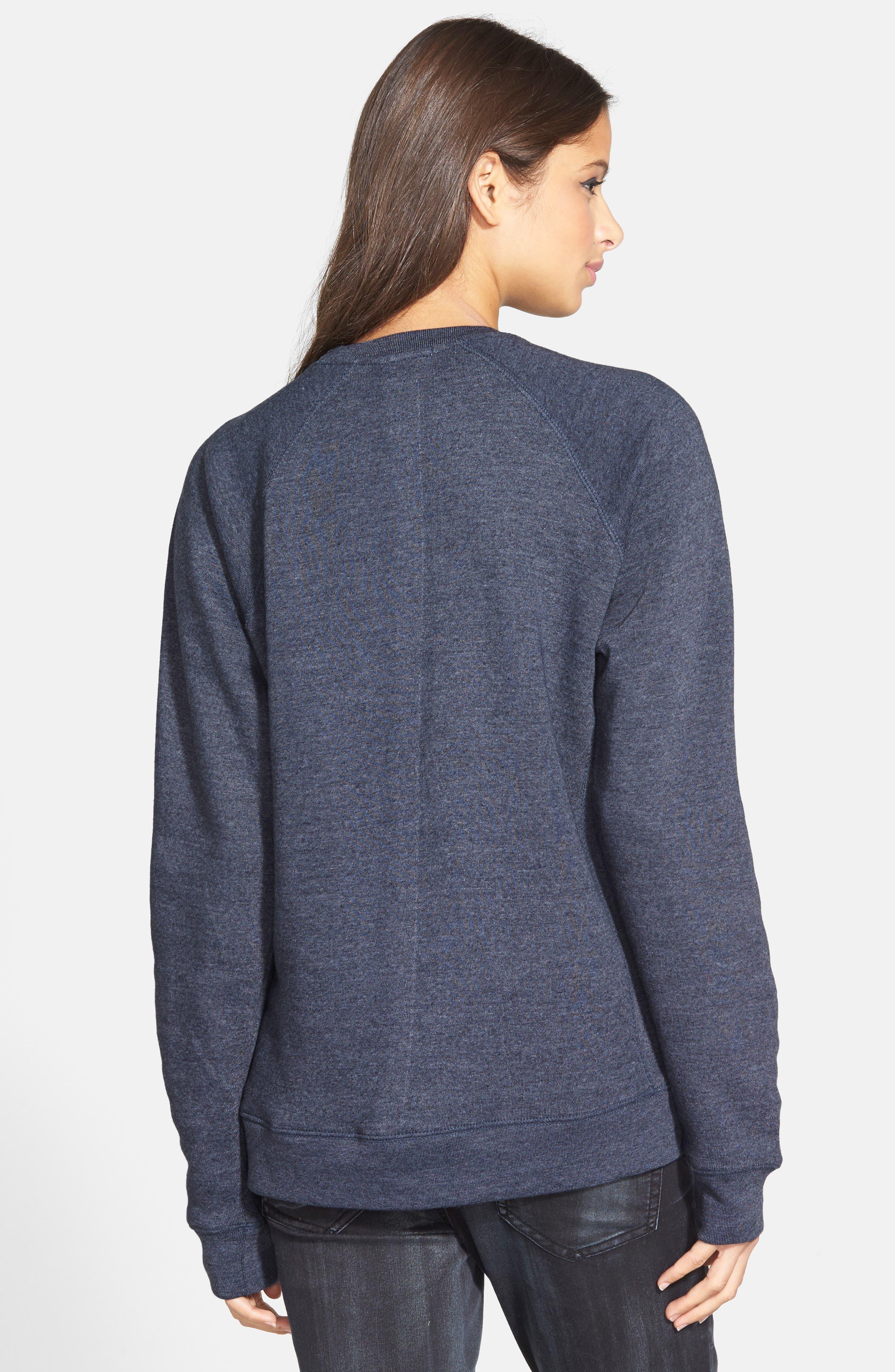 'Kale' Raglan Sweatshirt,                             Alternate thumbnail 3, color,                             410