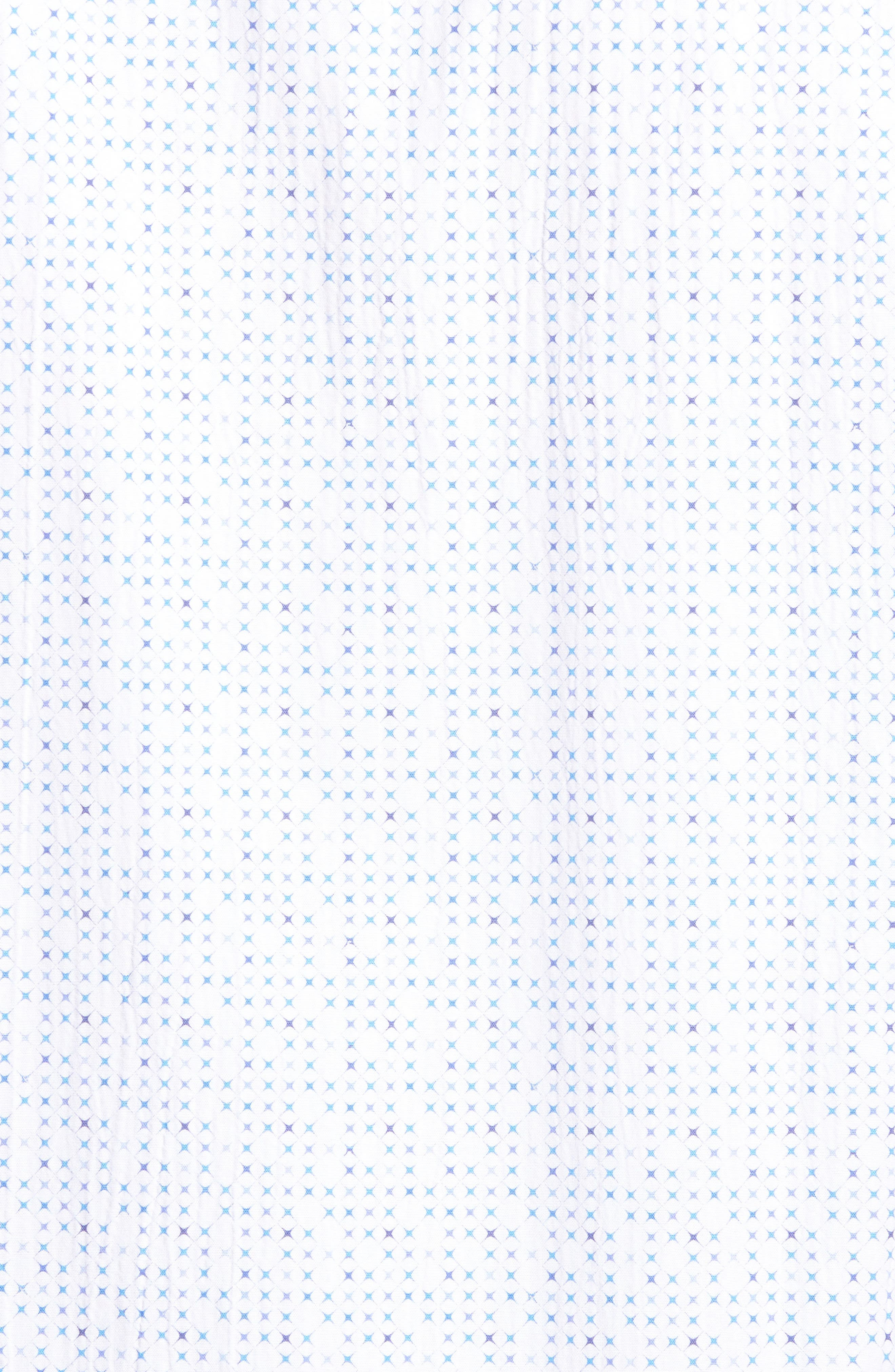 Classic Fit Petit Point Print Sport Shirt,                             Alternate thumbnail 5, color,                             100