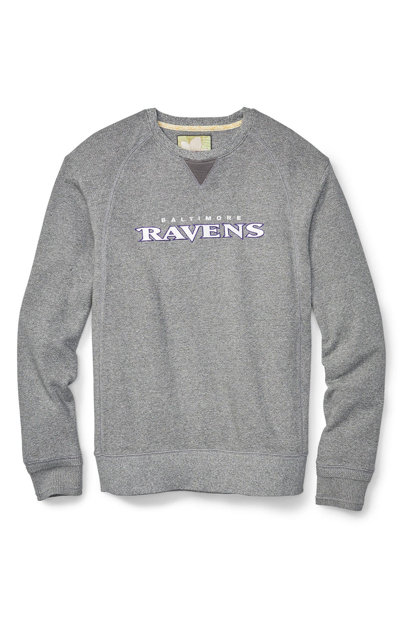 NFL Stitch of Liberty Embroidered Crewneck Sweatshirt,                             Main thumbnail 25, color,