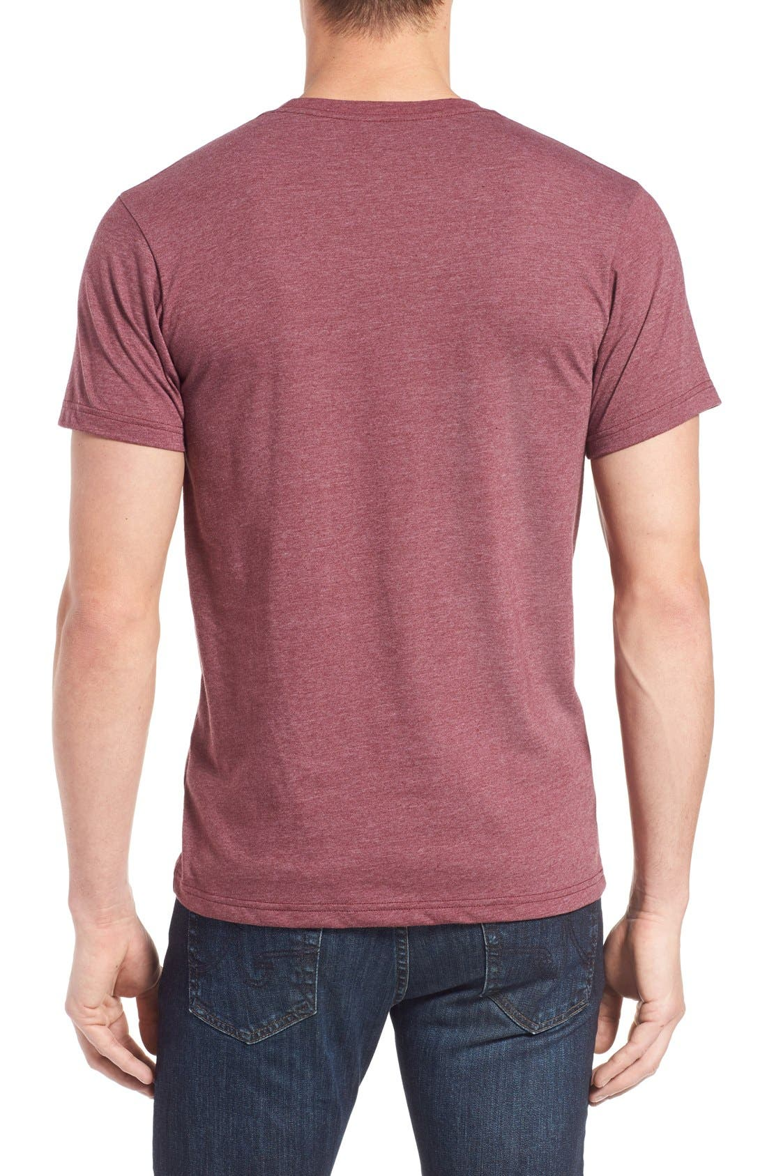 'Fitz Roy Crest' Slim Fit Organic Cotton Blend T-Shirt,                             Alternate thumbnail 23, color,